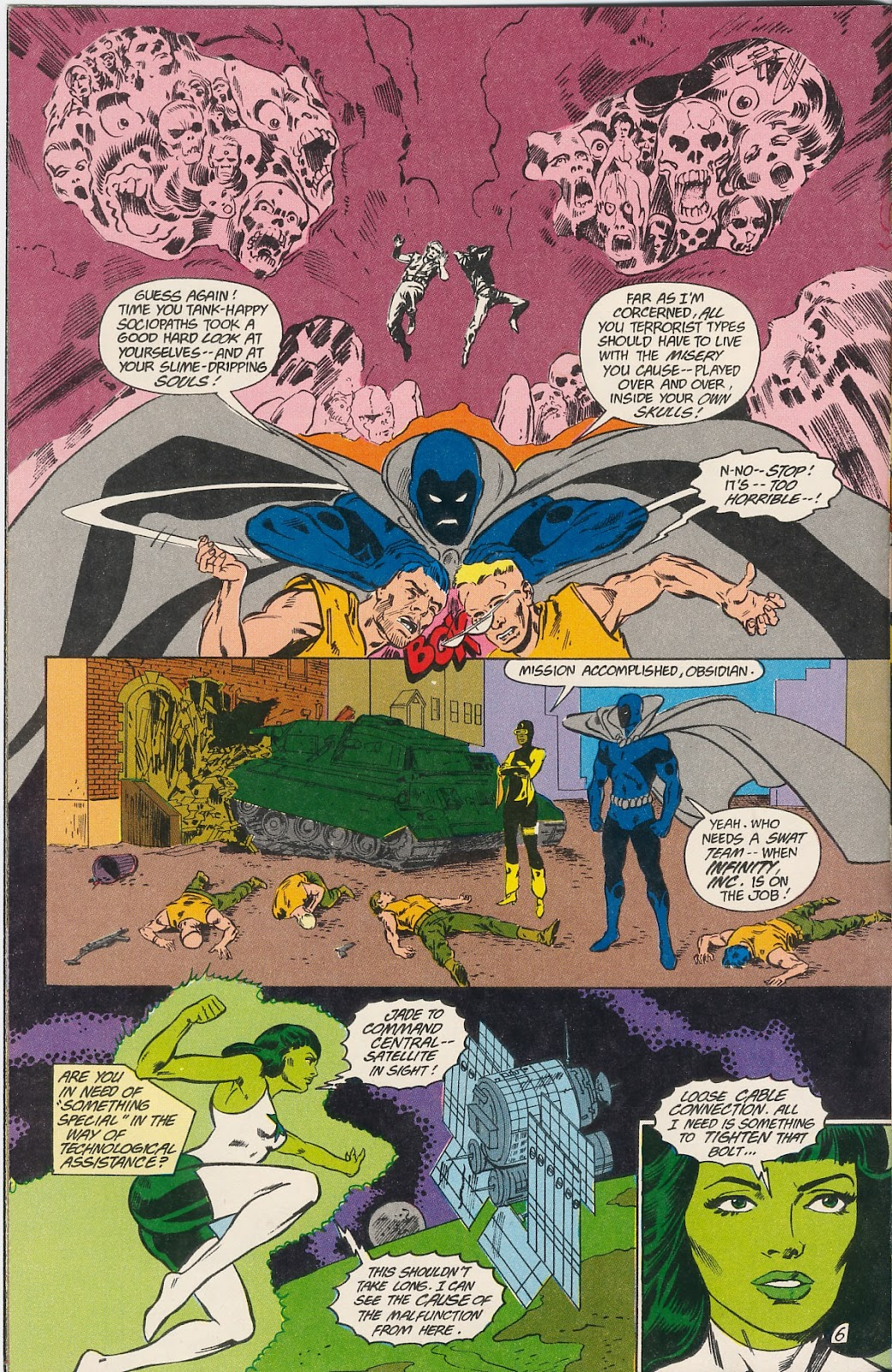 Infinity Inc. (1984) issue 40 - Page 8