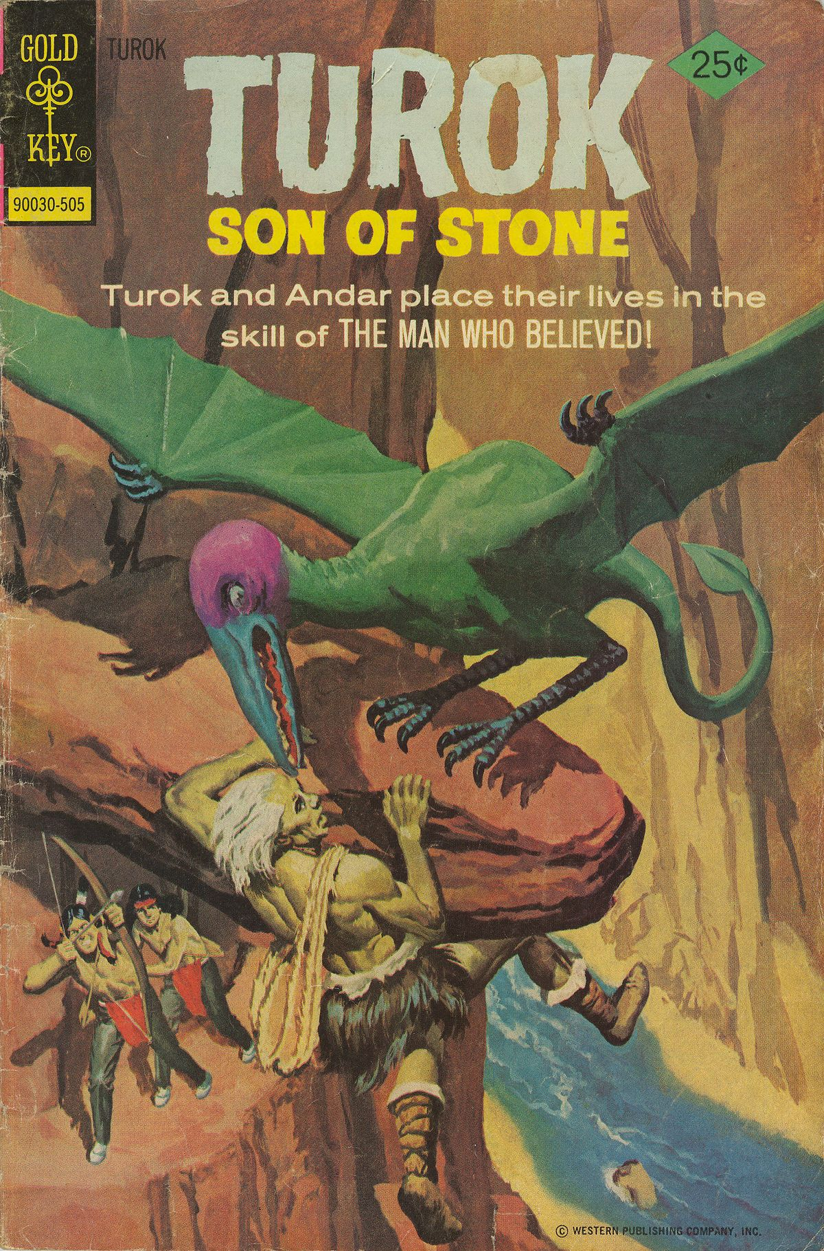 Read online Turok, Son of Stone comic -  Issue #96 - 1