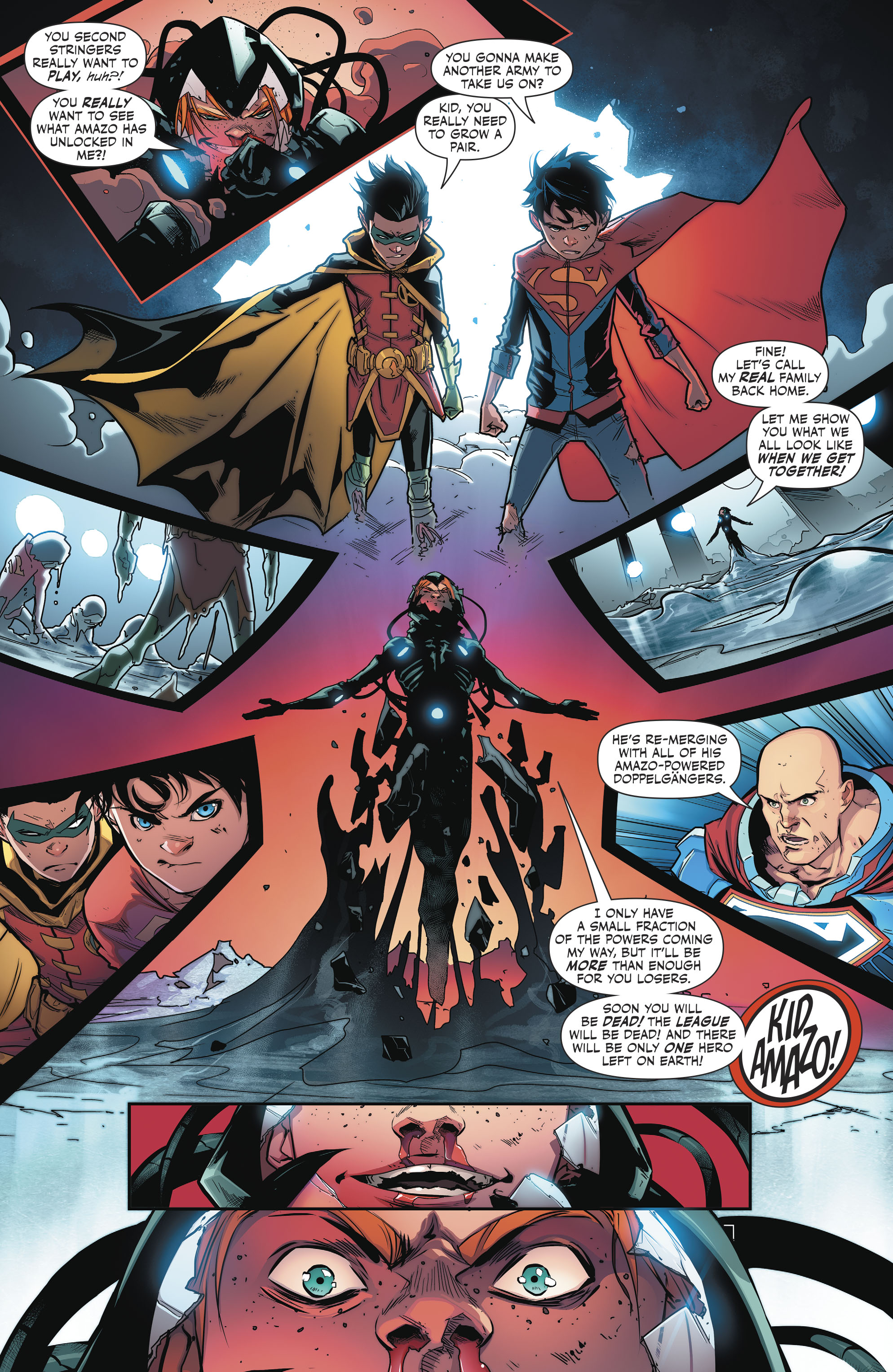 Read online Super Sons comic -  Issue #4 - 17