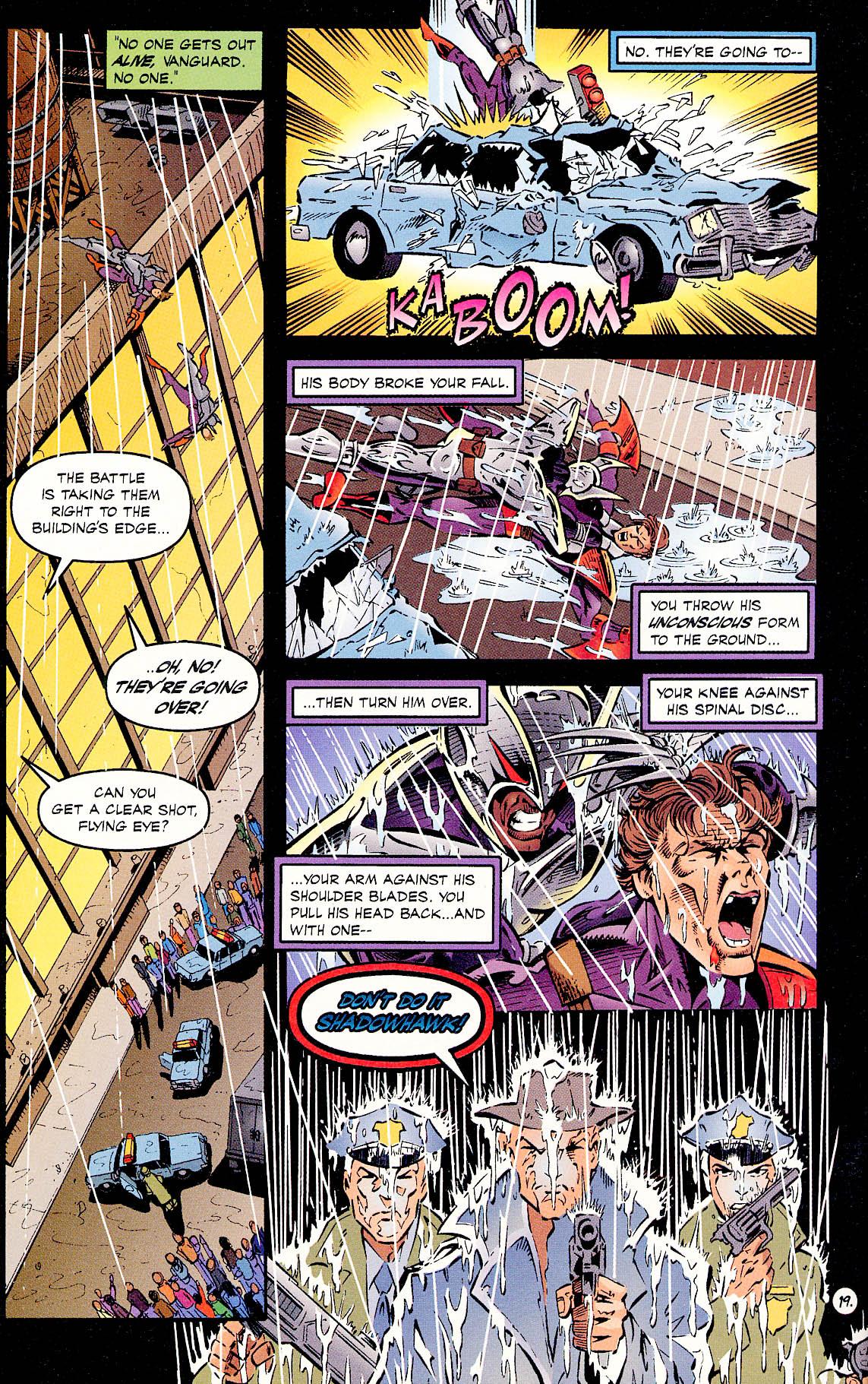Read online ShadowHawk comic -  Issue #18 - 19