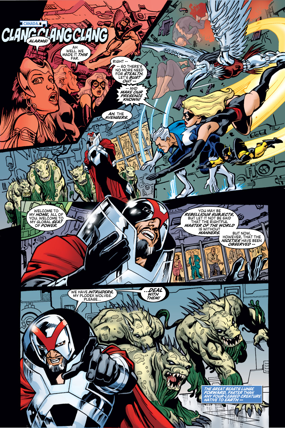 Read online Avengers (1998) comic -  Issue #48 - 15