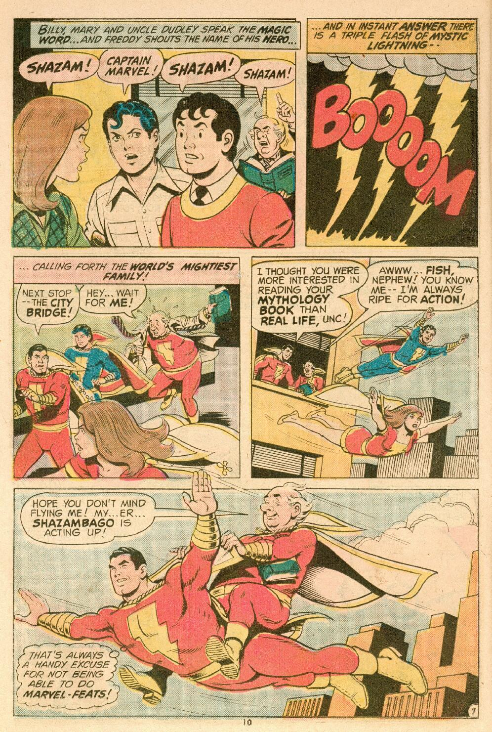 Read online Shazam! (1973) comic -  Issue #14 - 9