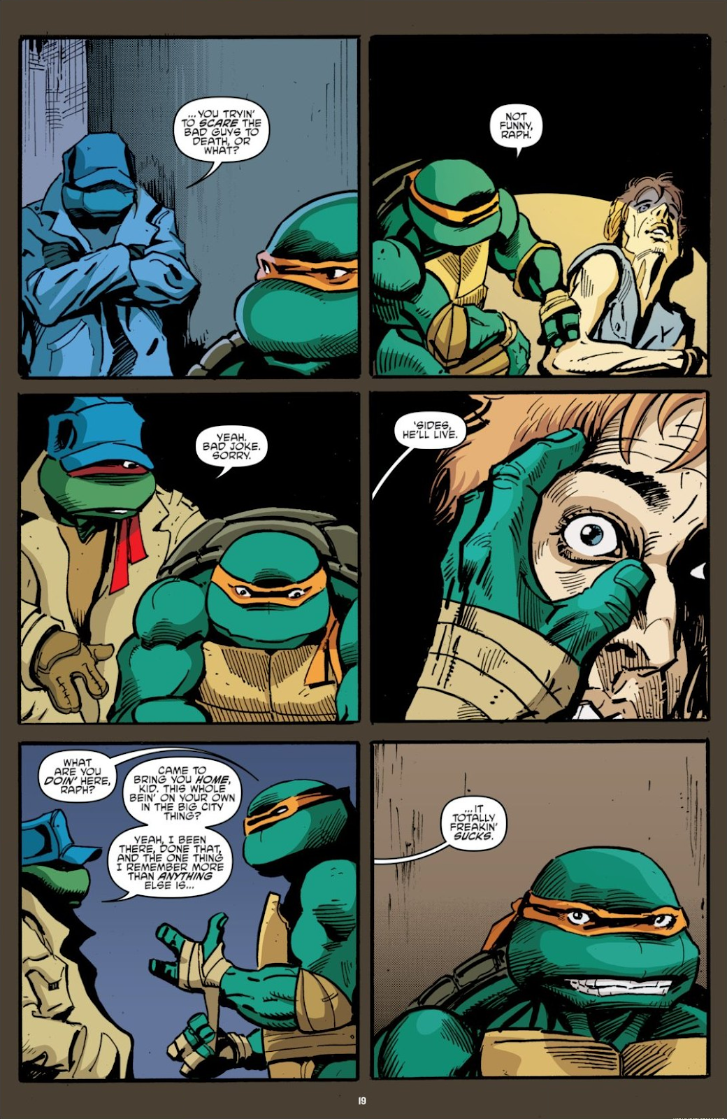 Read online Teenage Mutant Ninja Turtles: The IDW Collection comic -  Issue # TPB 7 (Part 1) - 19