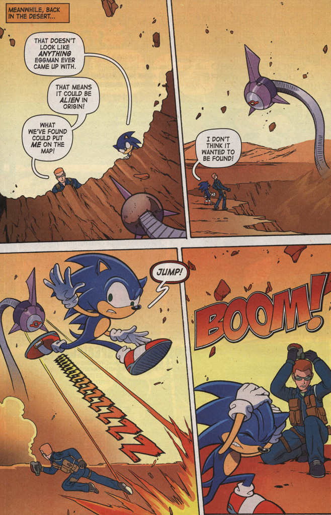 Read online Sonic X comic -  Issue #7 - 24