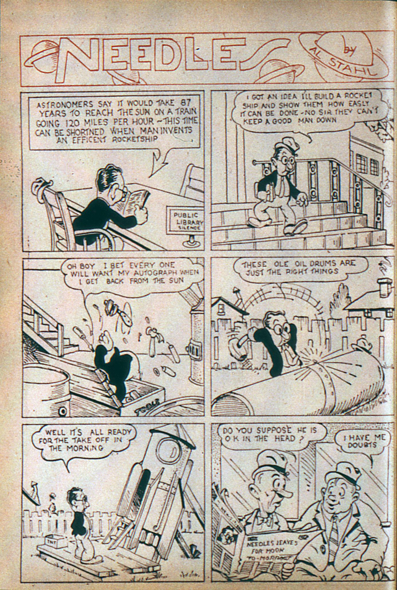 Read online Adventure Comics (1938) comic -  Issue #6 - 23