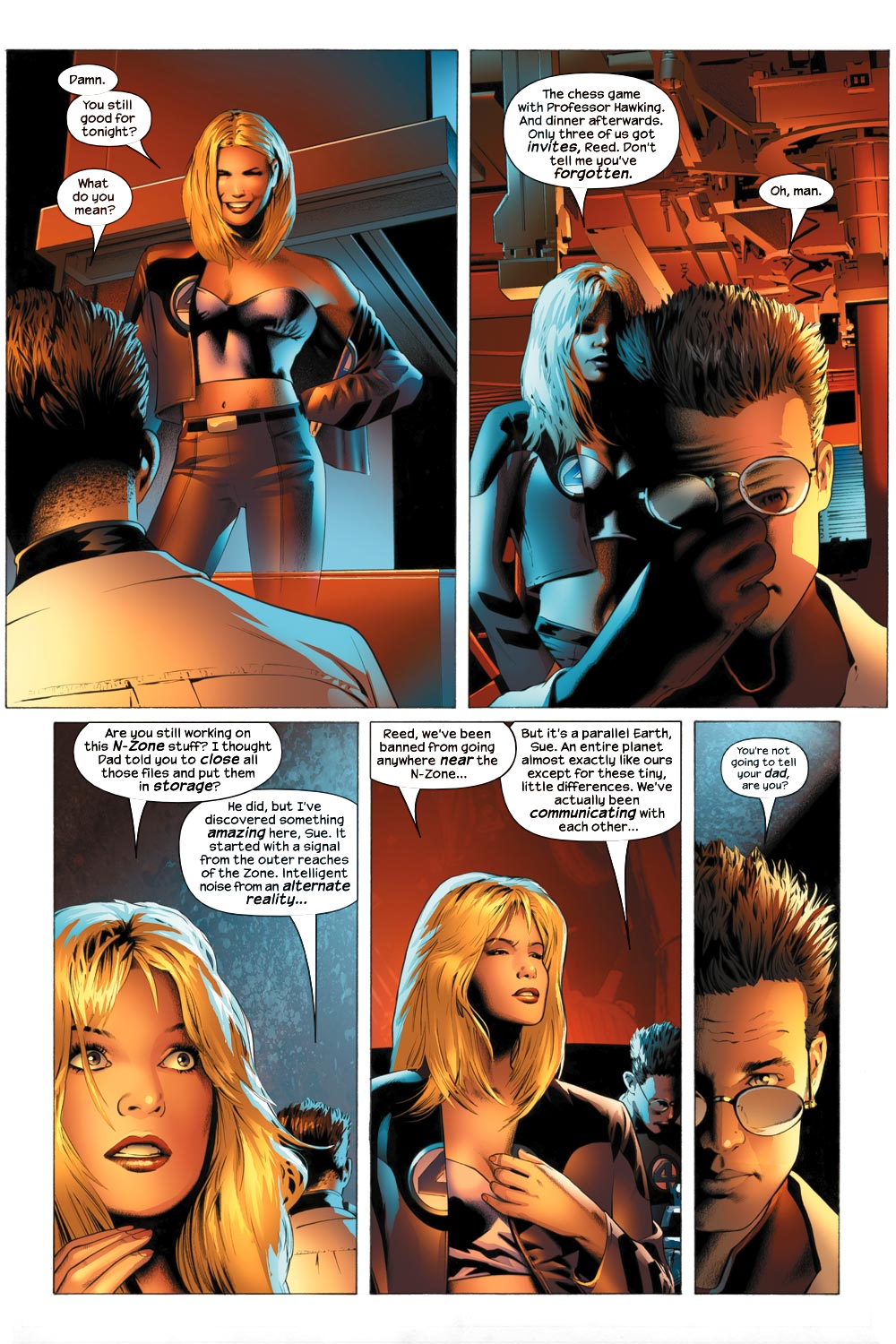 Read online Ultimate Fantastic Four (2004) comic -  Issue #21 - 15