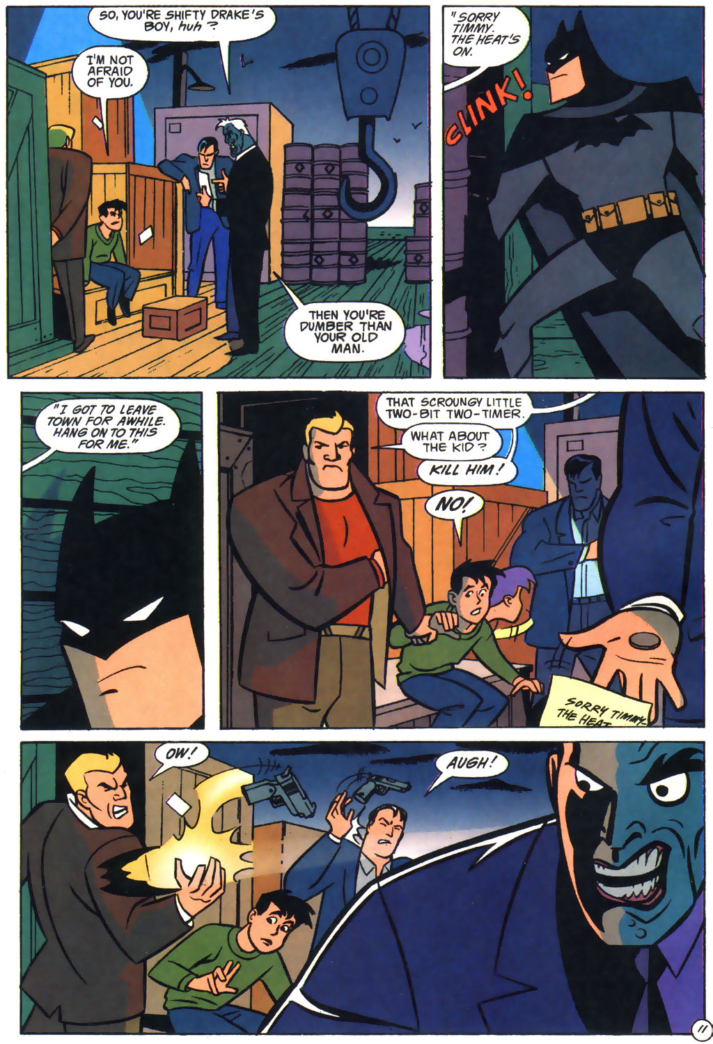 read online the batman adventures the lost years comic issue 4