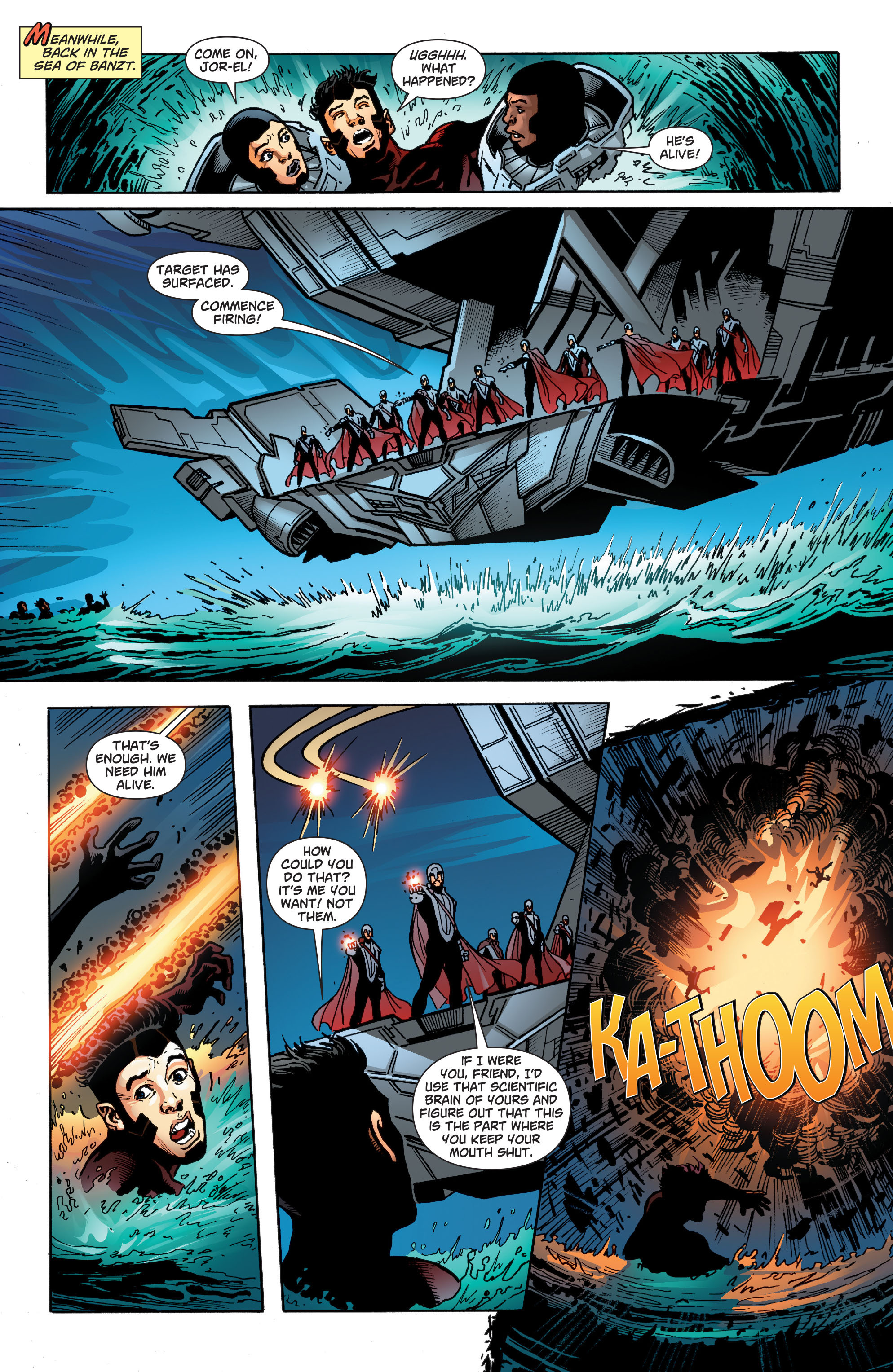 Read online Action Comics (2011) comic -  Issue #22 - 23