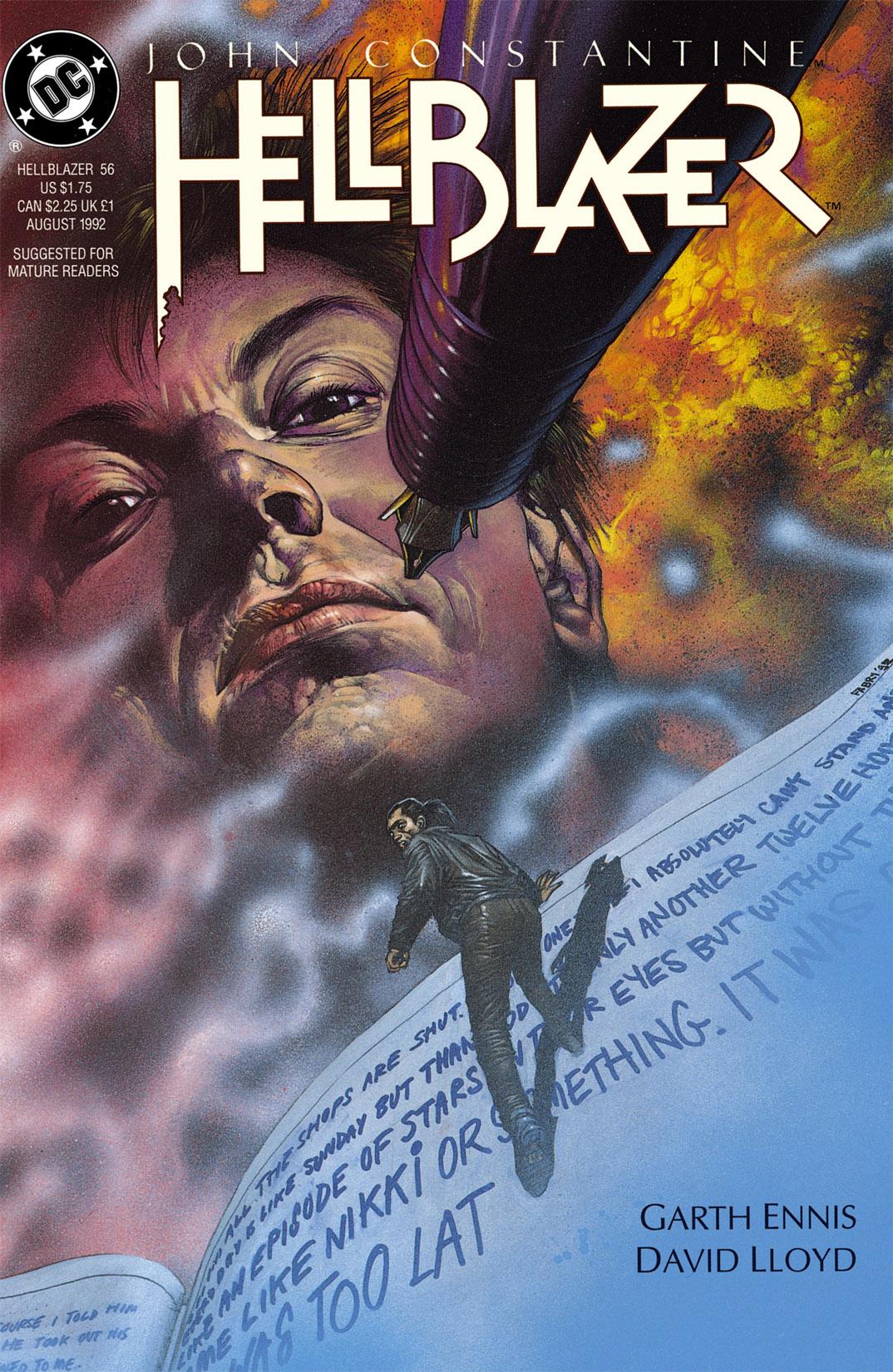 Hellblazer issue 56 - Page 1