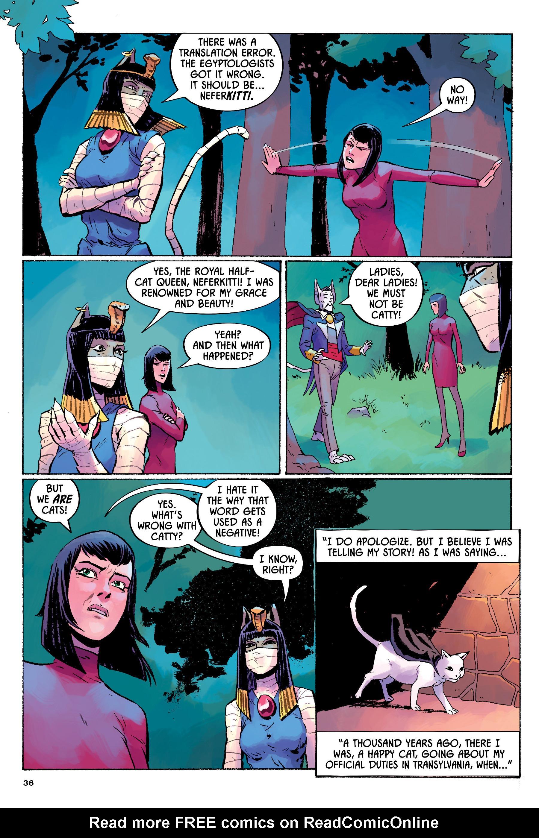 Read online Angel Catbird comic -  Issue # TPB 2 - 37