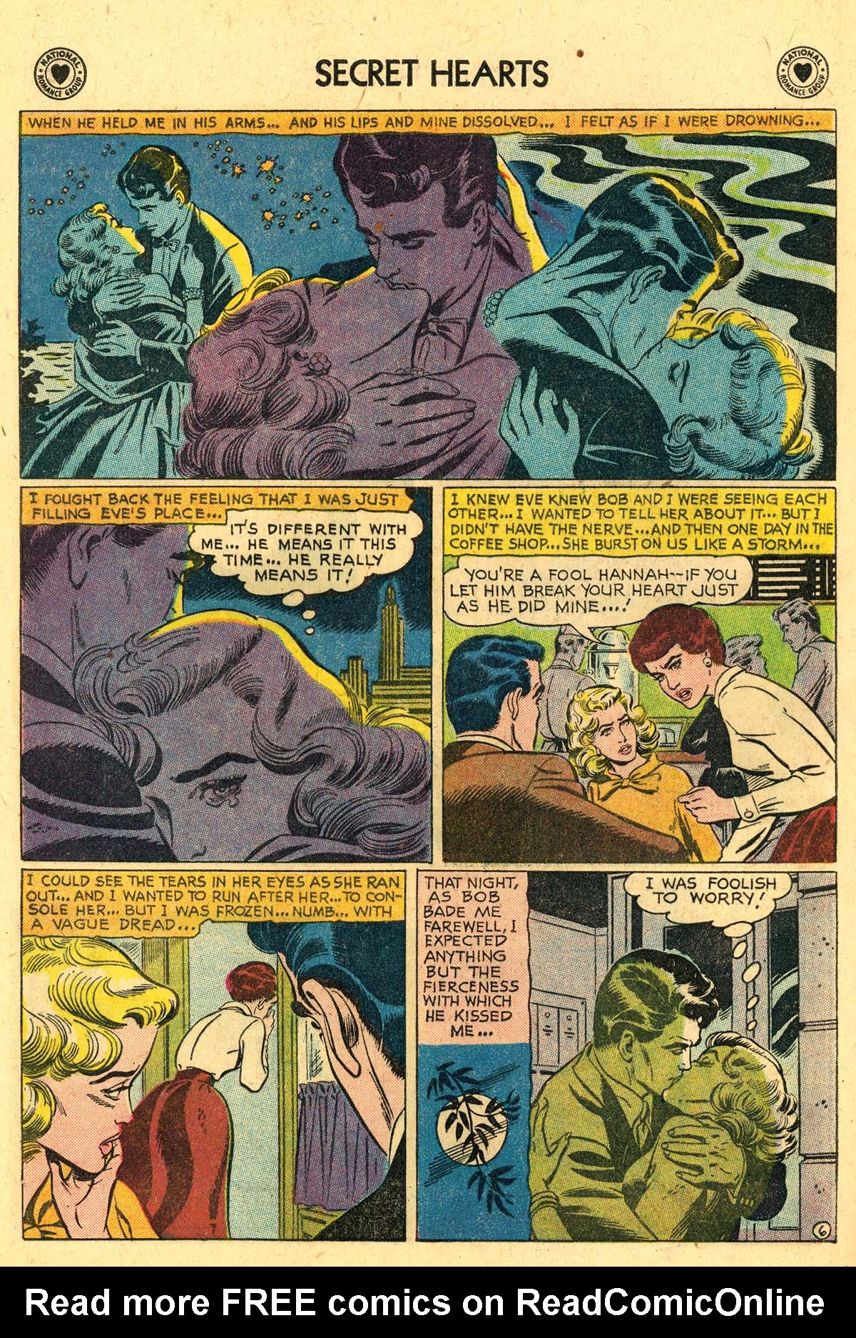 Read online Secret Hearts comic -  Issue #57 - 32