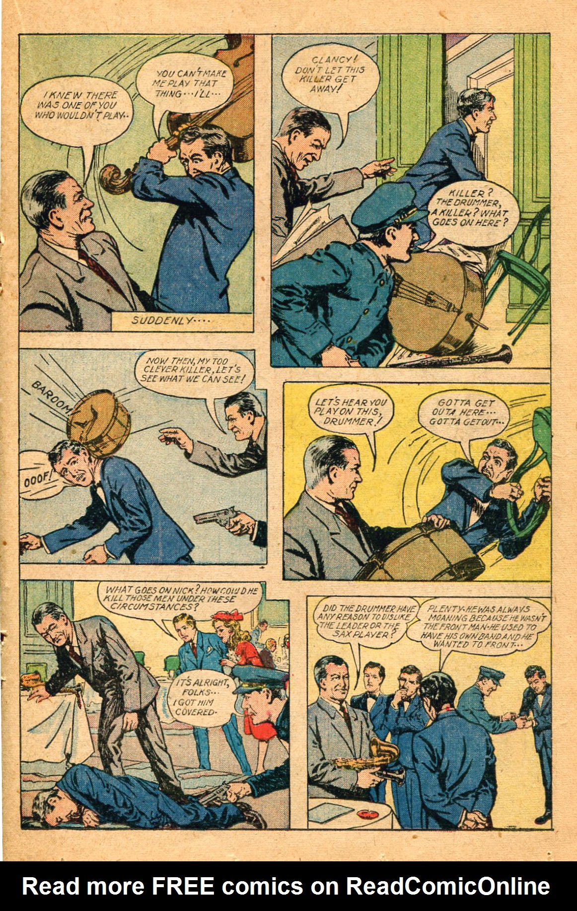 Read online Shadow Comics comic -  Issue #60 - 25