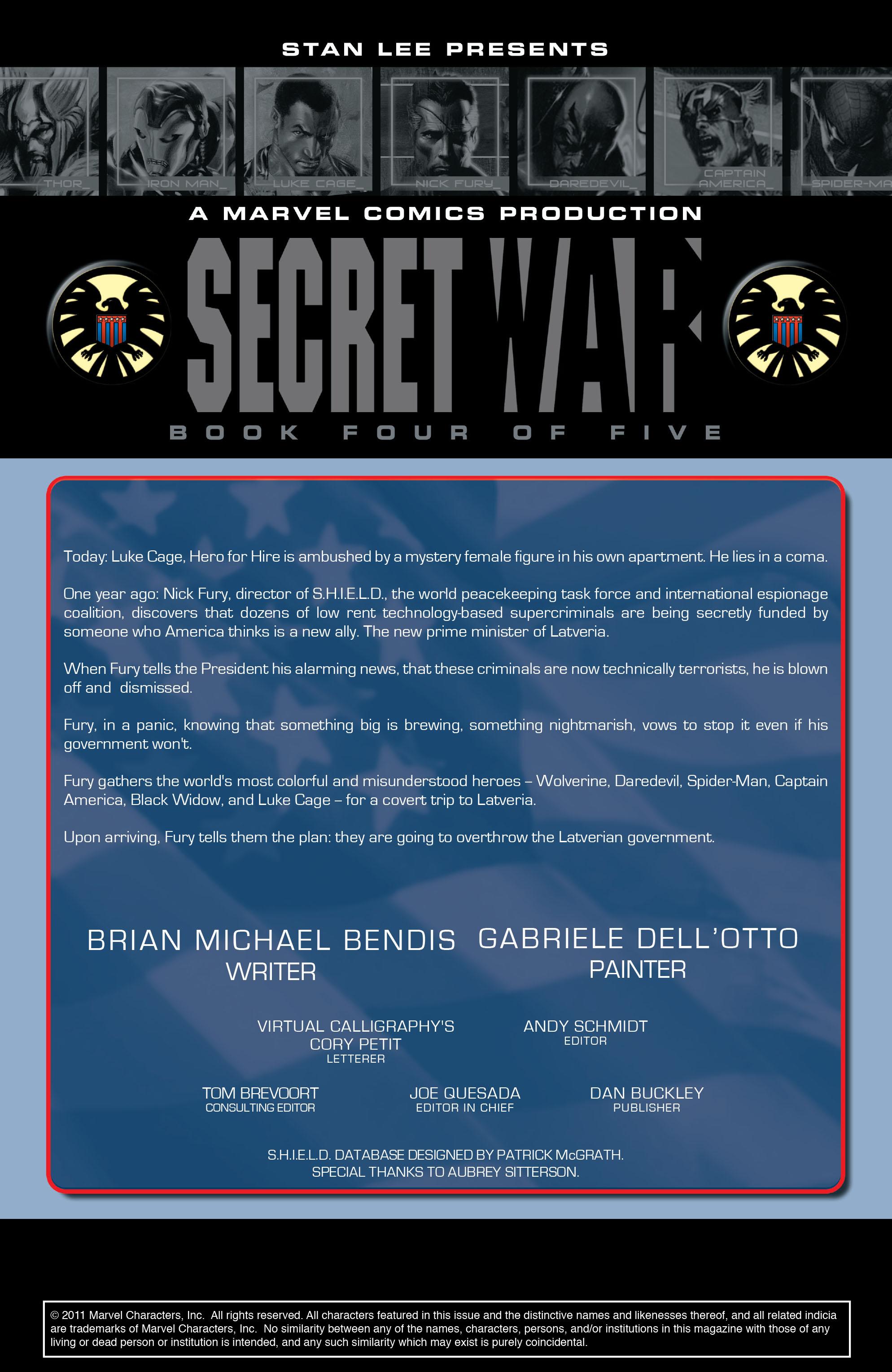 Read online Secret War comic -  Issue # Full - 74