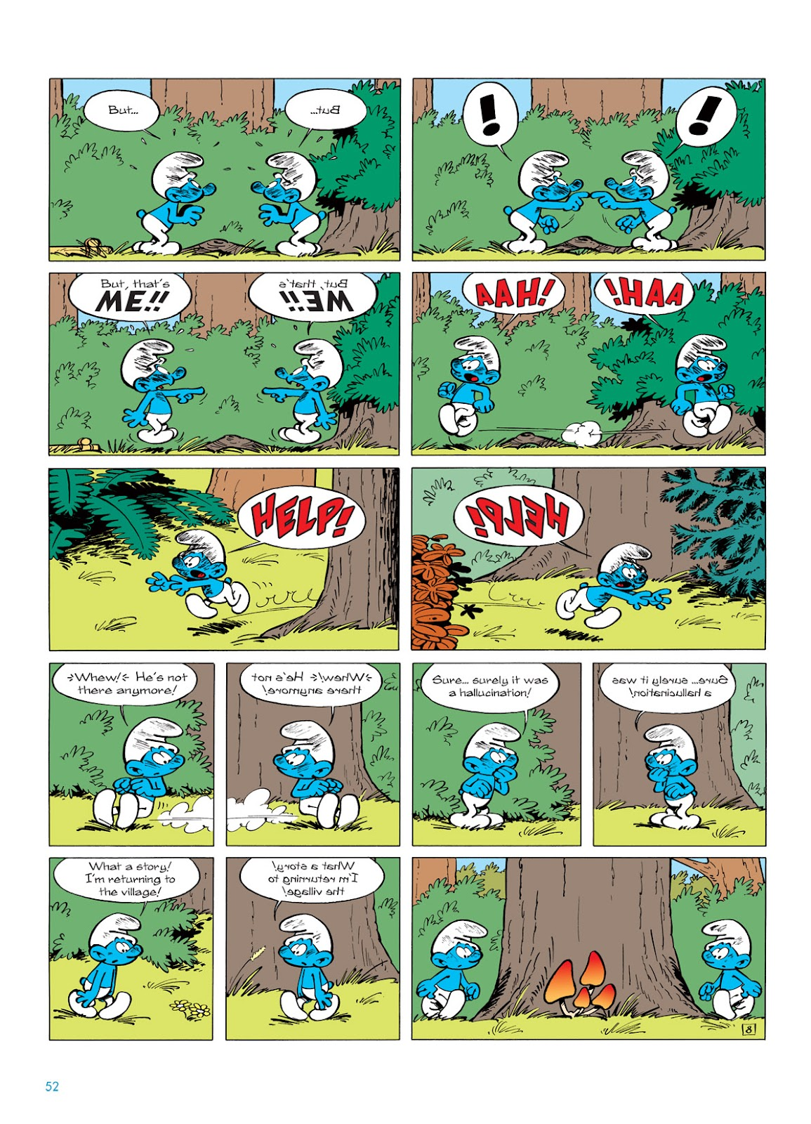 Read online The Smurfs comic -  Issue #5 - 52