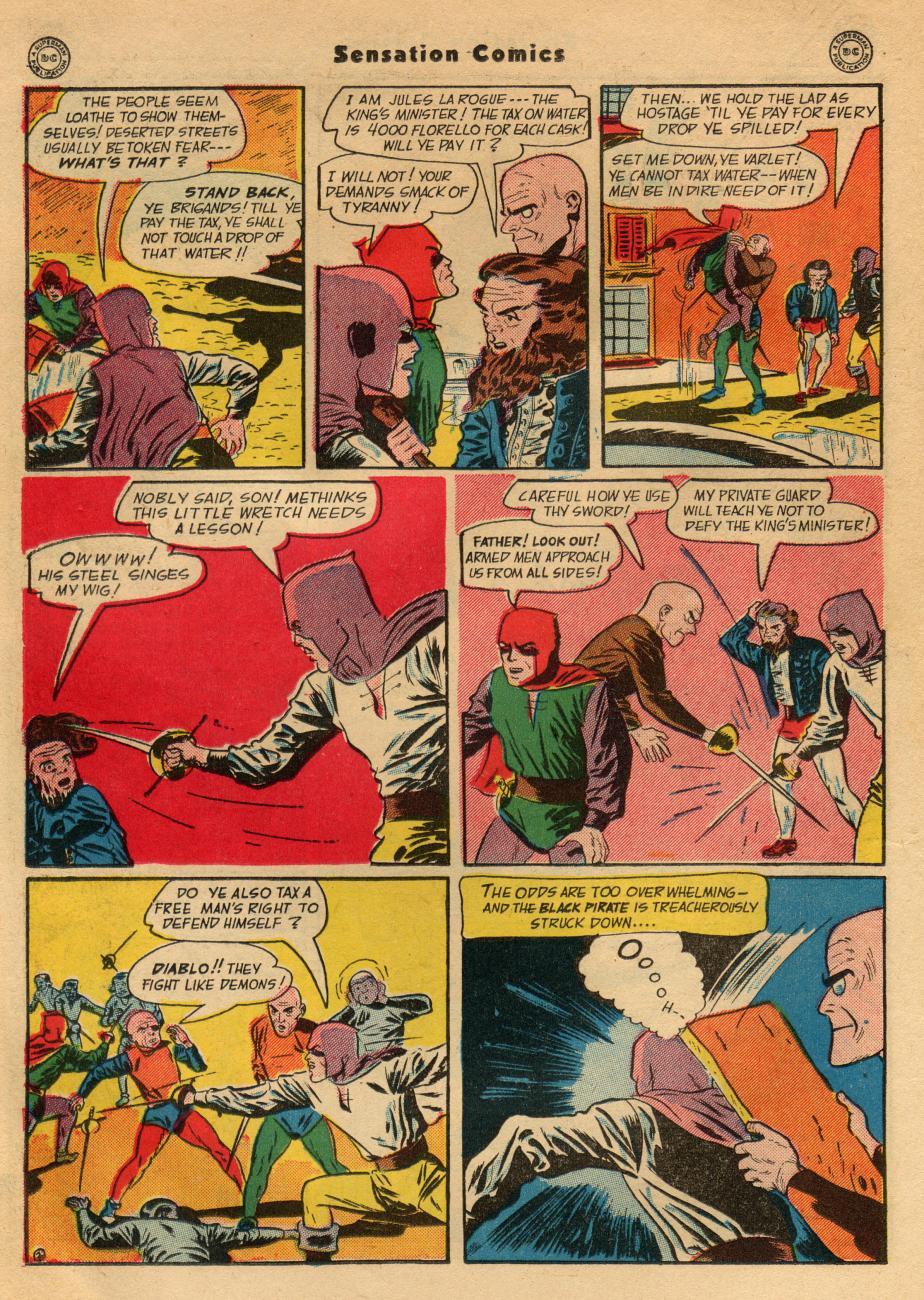Read online Sensation (Mystery) Comics comic -  Issue #49 - 32