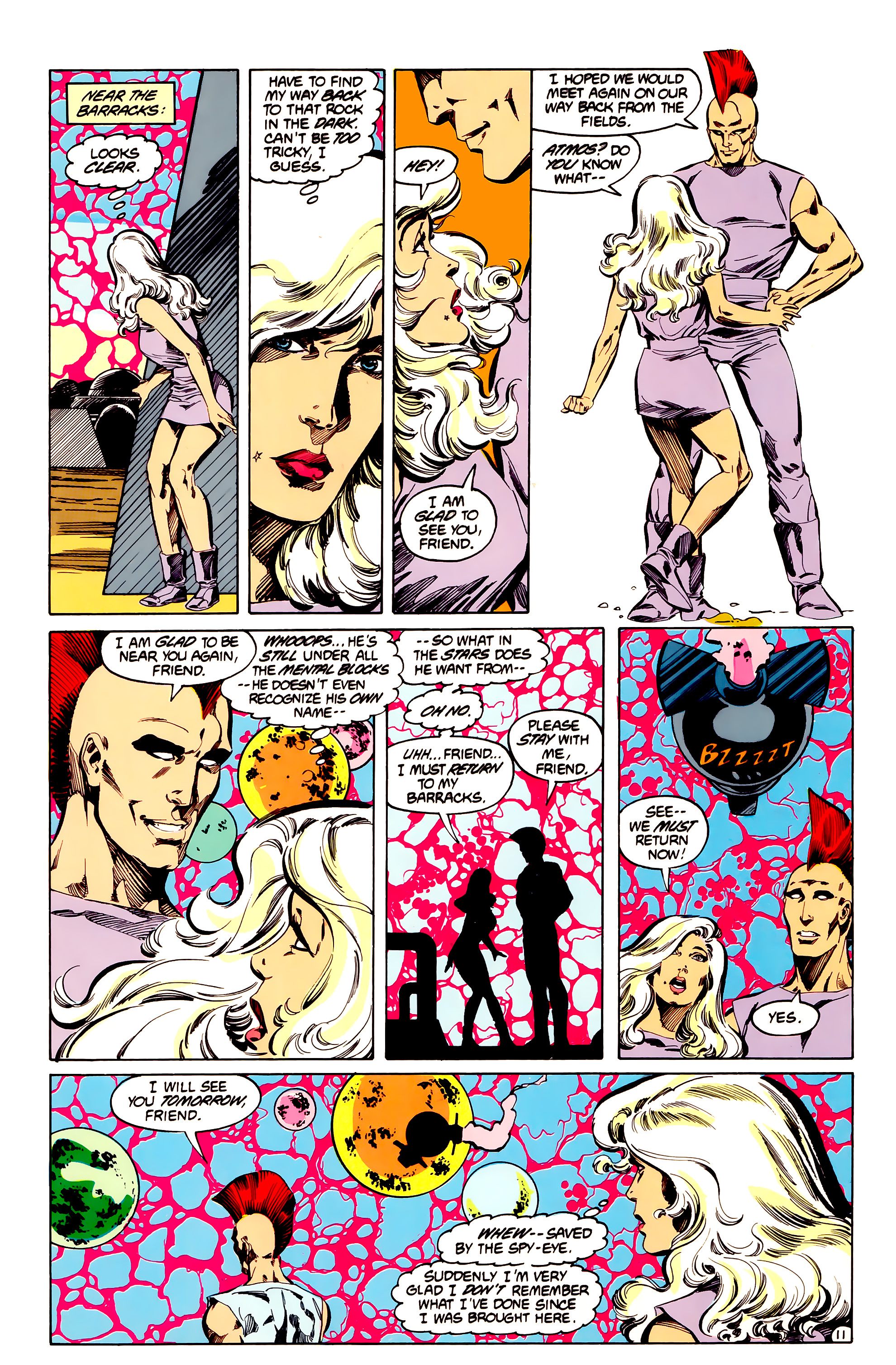 Legion of Super-Heroes (1984) 33 Page 11