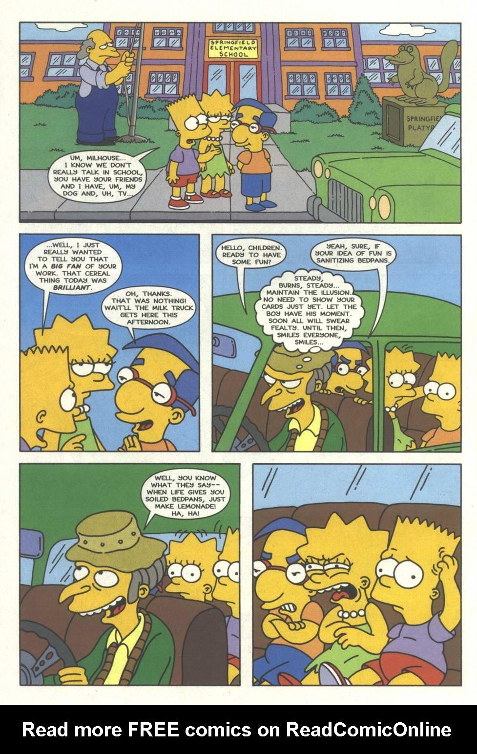 Read online Simpsons Comics comic -  Issue #33 - 9