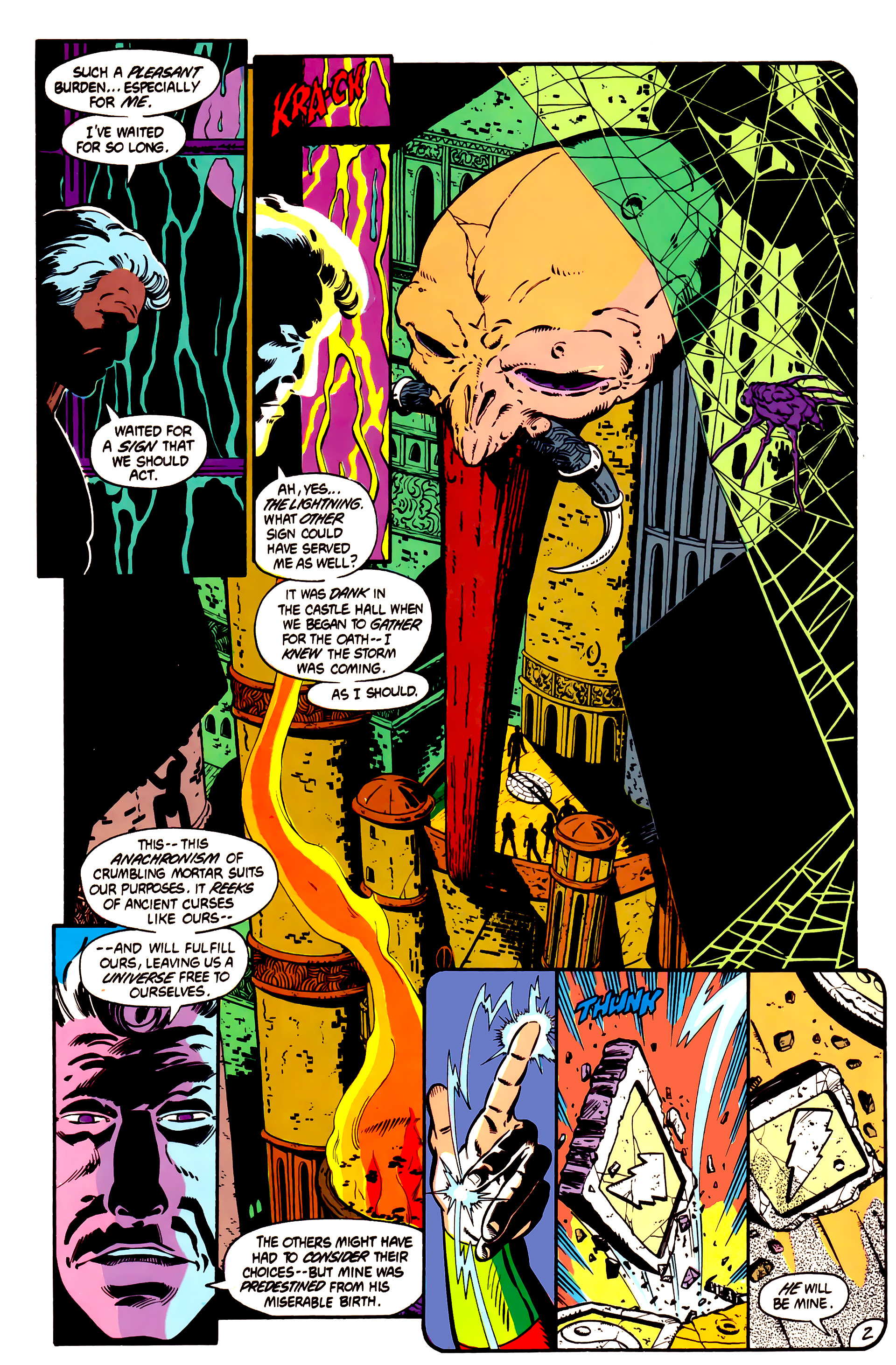 Legion of Super-Heroes (1984) 1 Page 3