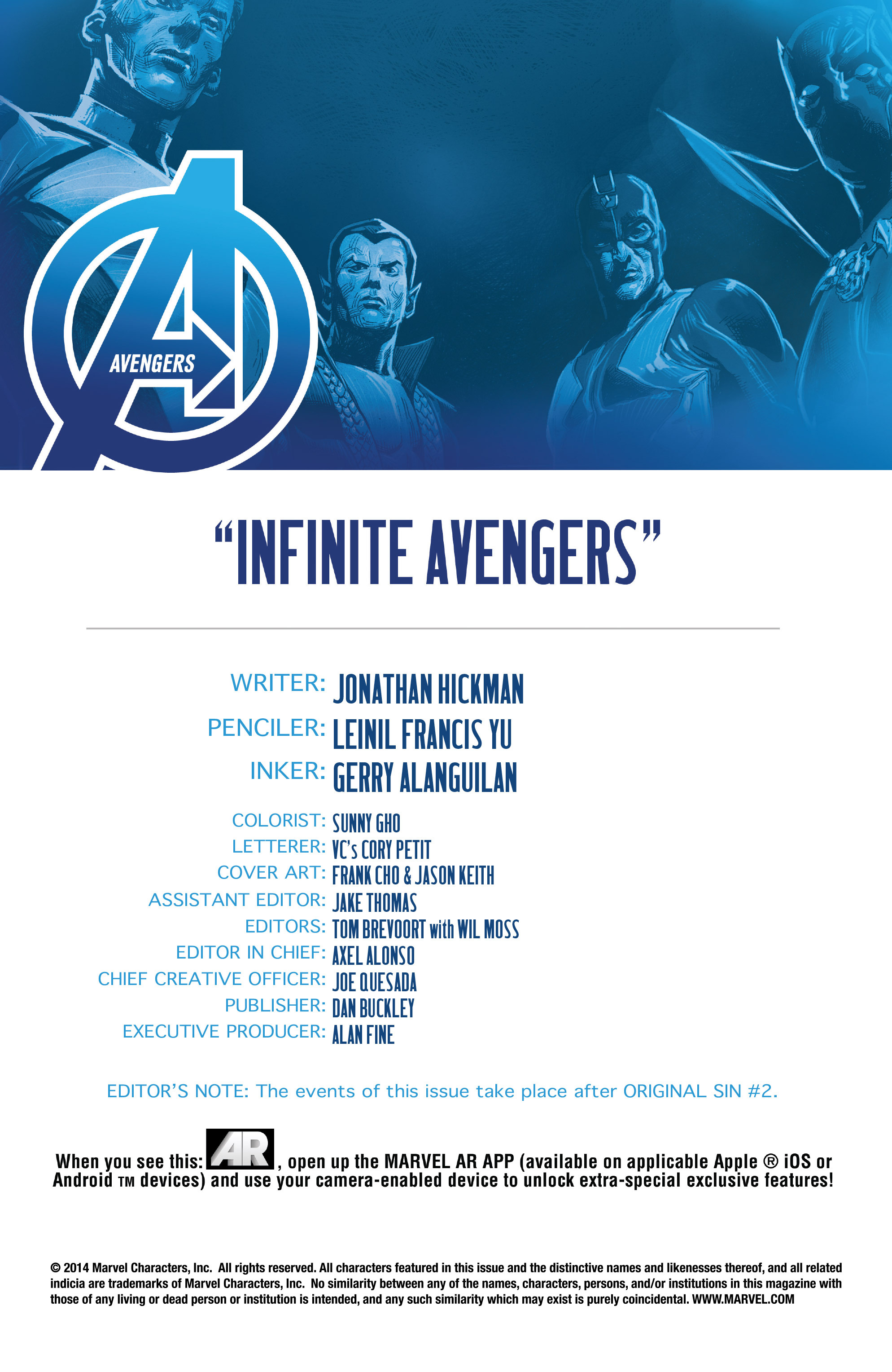 Read online Avengers (2013) comic -  Issue #29 - 4