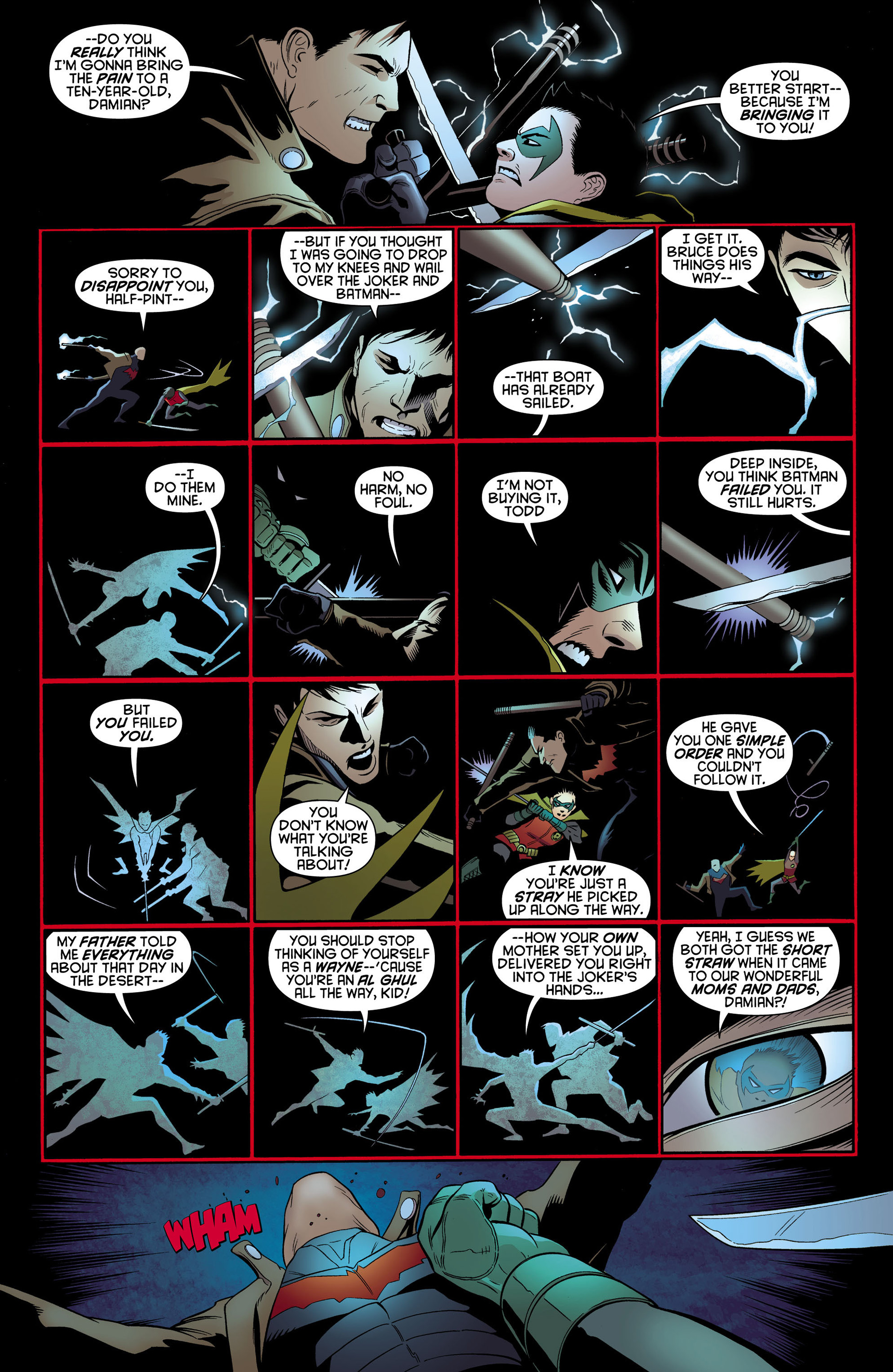 Read online Batman and Robin (2011) comic -  Issue #11 - 6