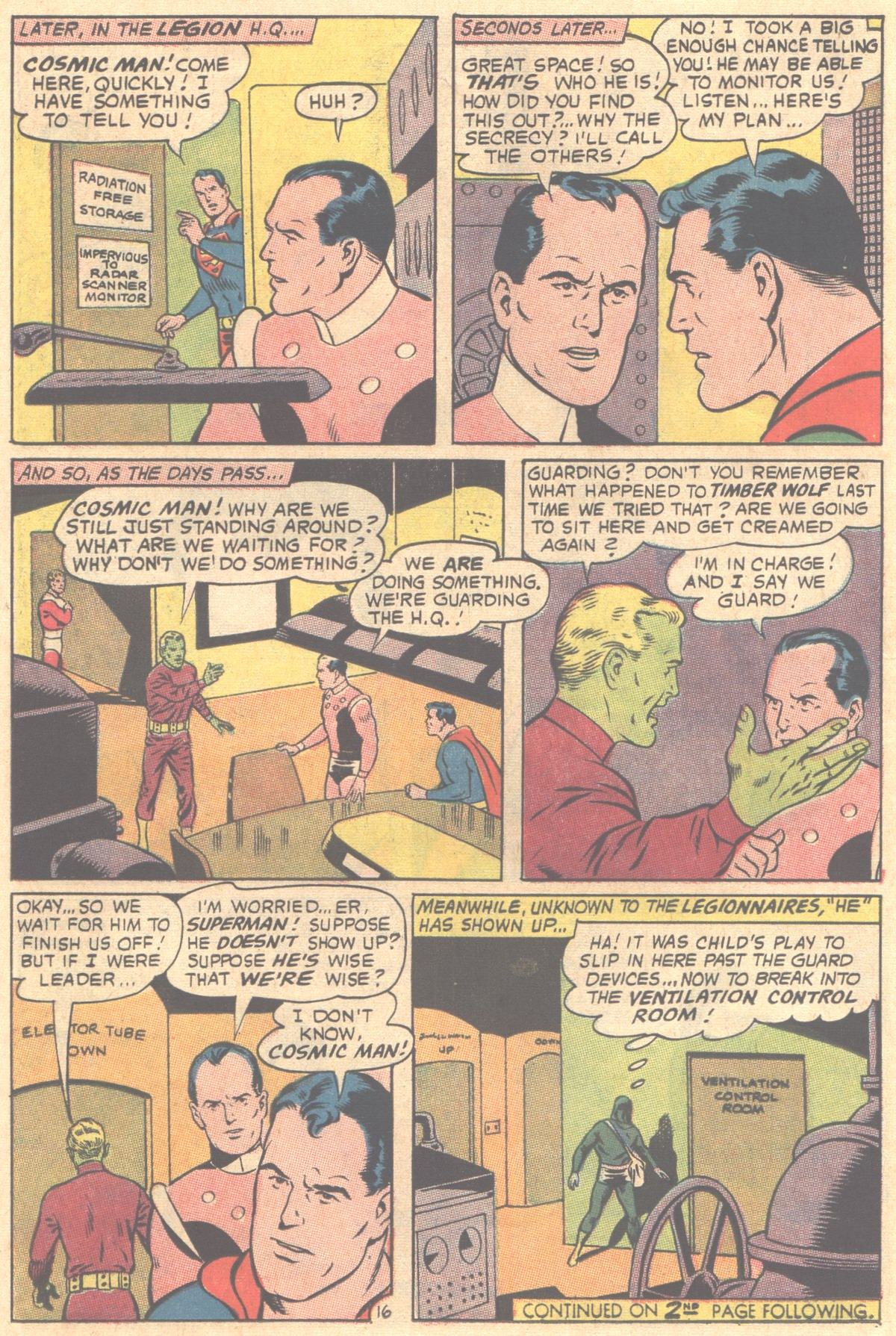Read online Adventure Comics (1938) comic -  Issue #354 - 22