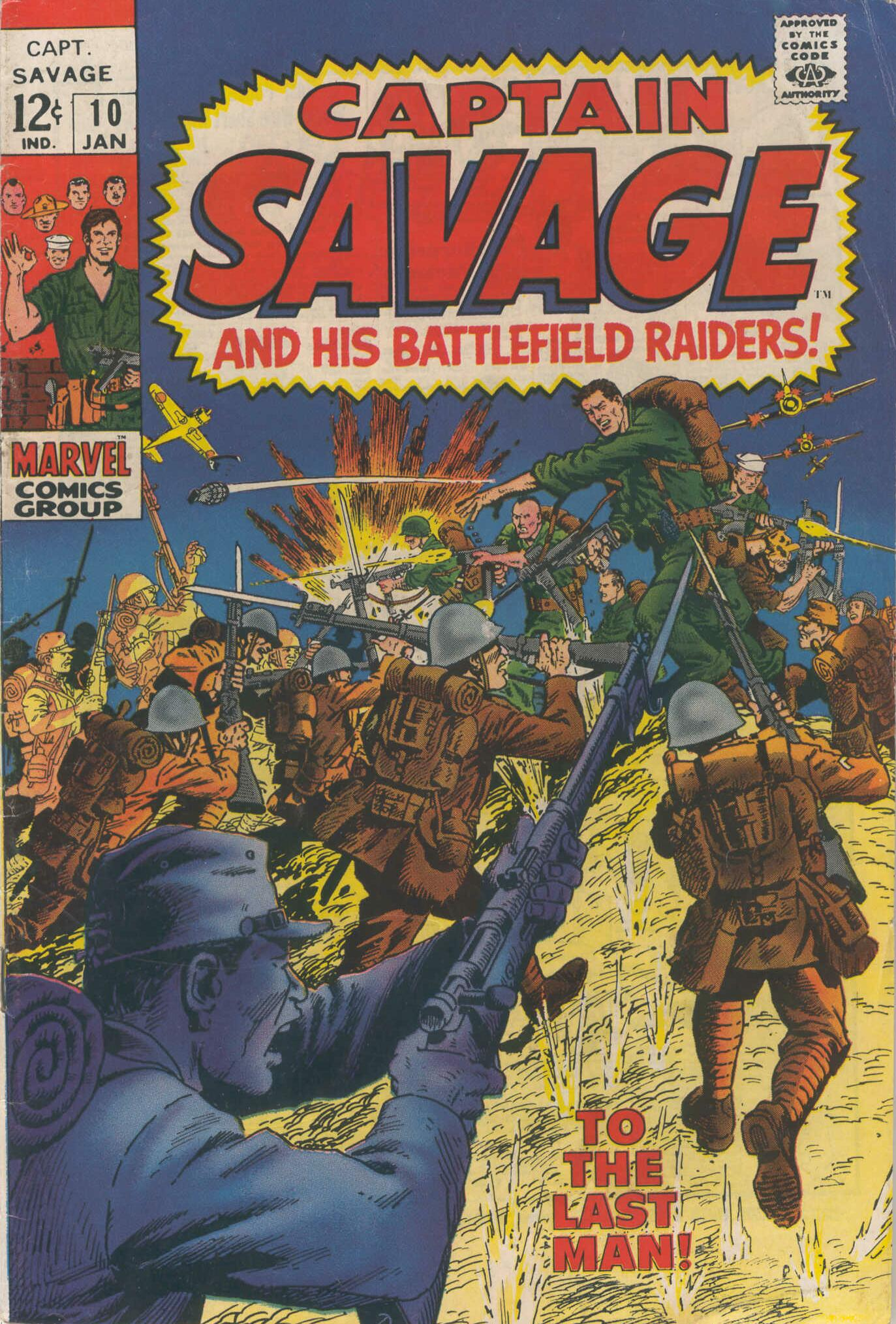 Captain Savage and his Leatherneck Raiders 10 Page 1