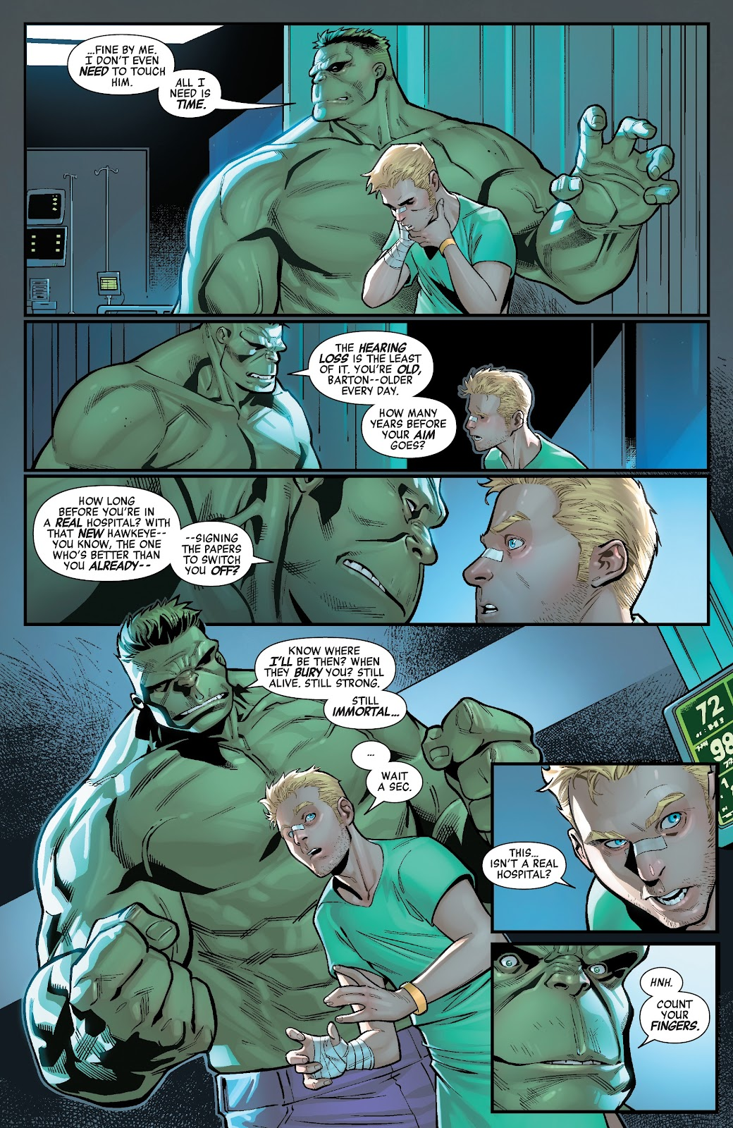 Read online Avengers No Road Home comic -  Issue #3 - 8