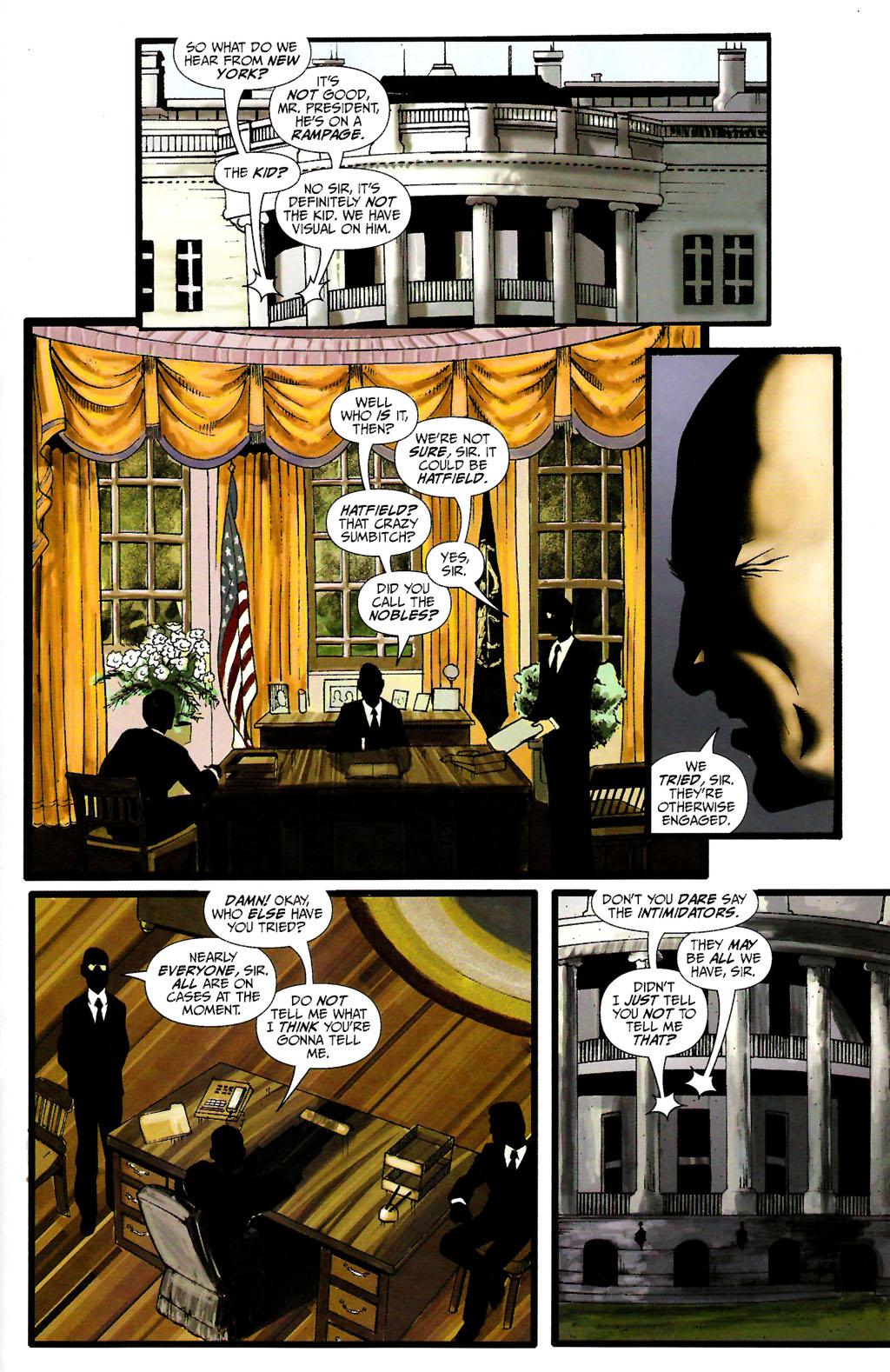 Read online ShadowHawk (2005) comic -  Issue #10 - 19
