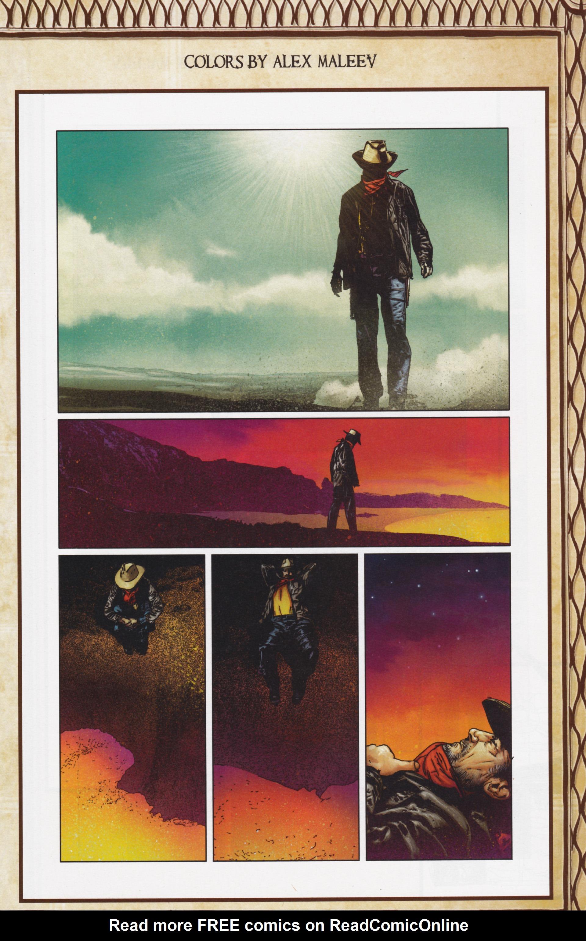 Read online Dark Tower: The Gunslinger - The Man in Black comic -  Issue #5 - 29