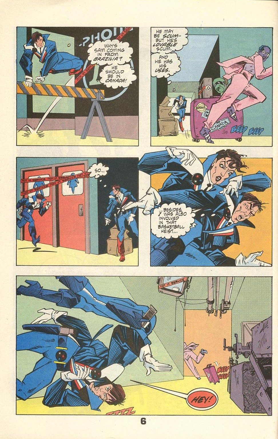 Read online American Flagg! comic -  Issue #31 - 8