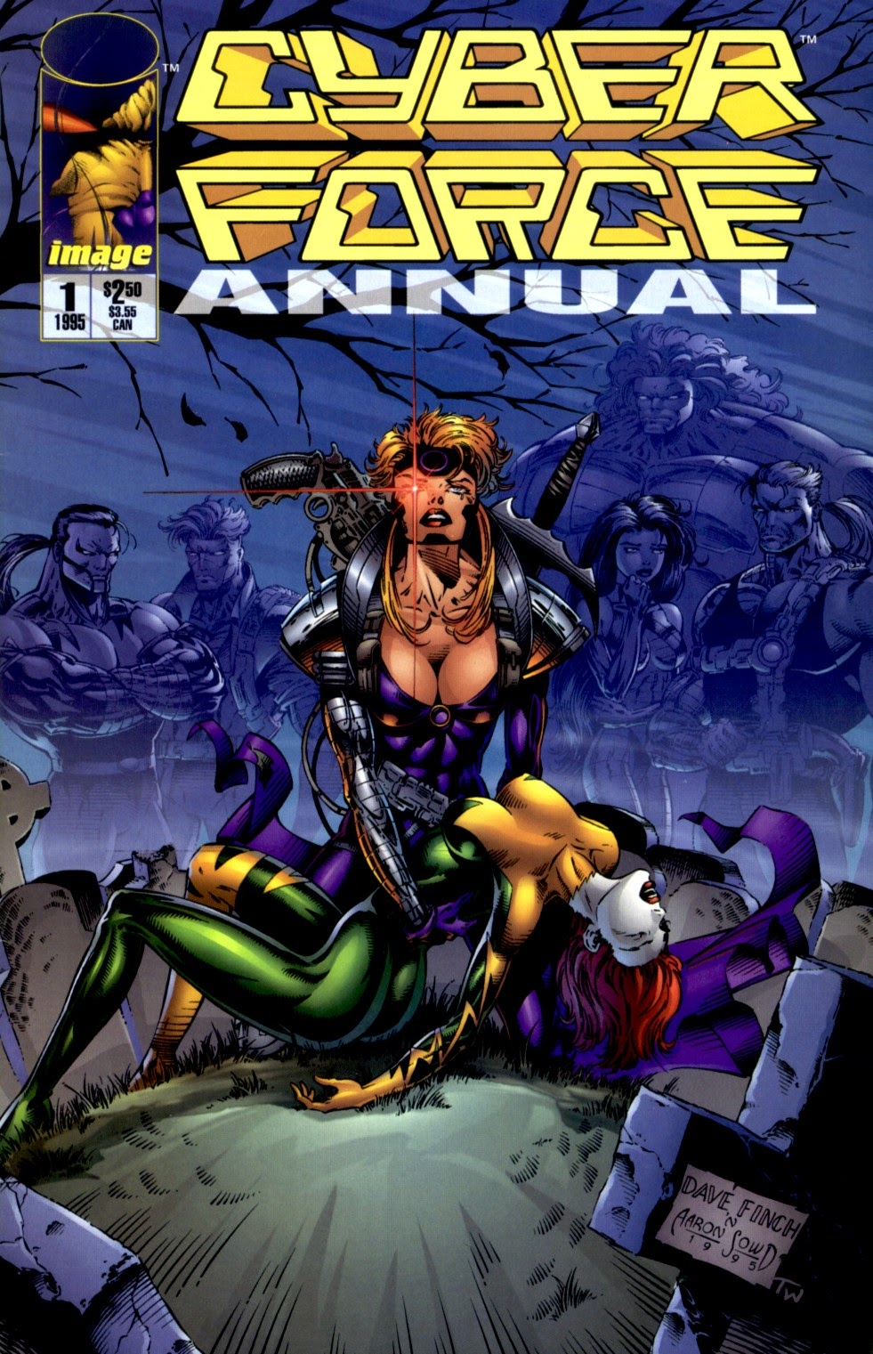 Read online Cyberforce (1993) comic -  Issue # Annual 1 - 1