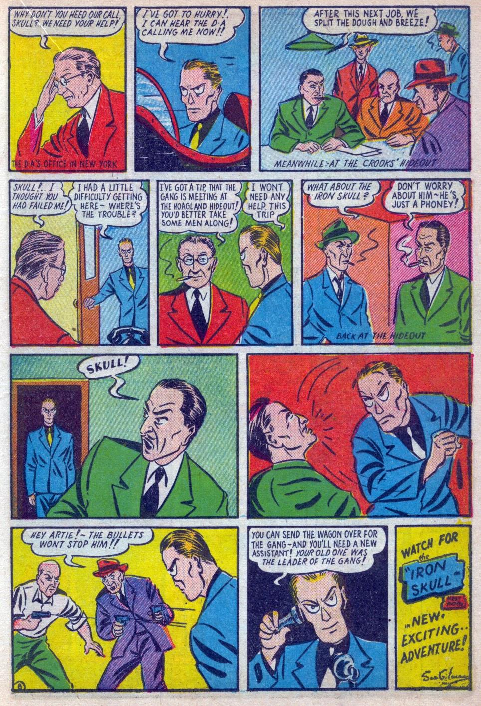 Read online Amazing Man Comics comic -  Issue #15 - 26