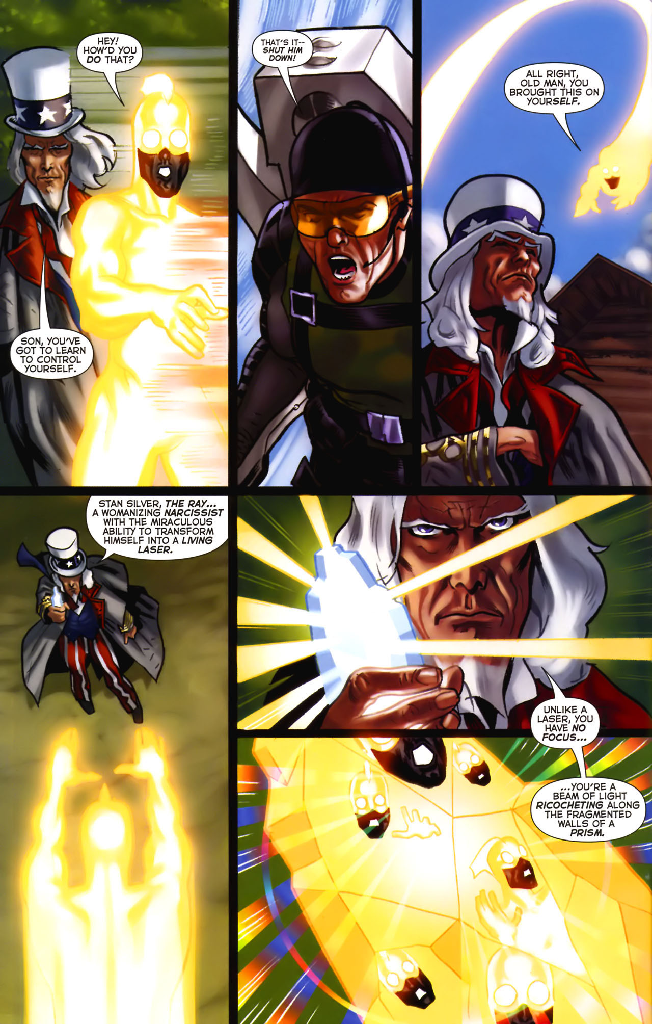 Read online Uncle Sam and the Freedom Fighters (2006) comic -  Issue #2 - 7
