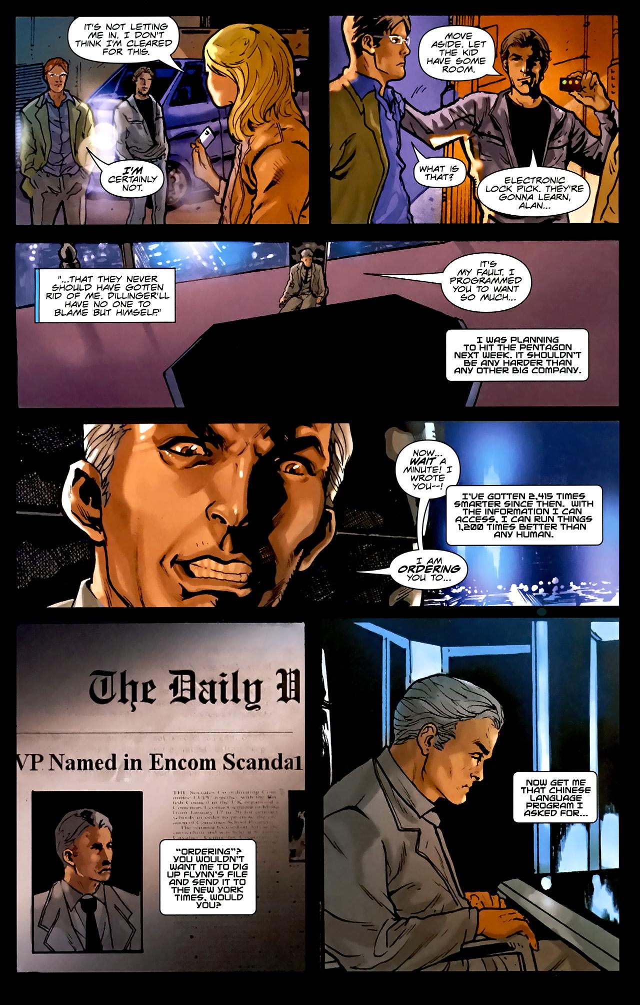 Read online TRON: Original Movie Adaptation comic -  Issue #1 - 26
