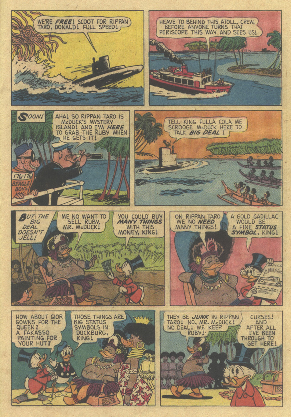 Read online Uncle Scrooge (1953) comic -  Issue #98 - 21