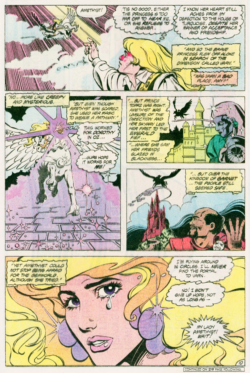 Read online Amethyst (1985) comic -  Issue #12 - 13