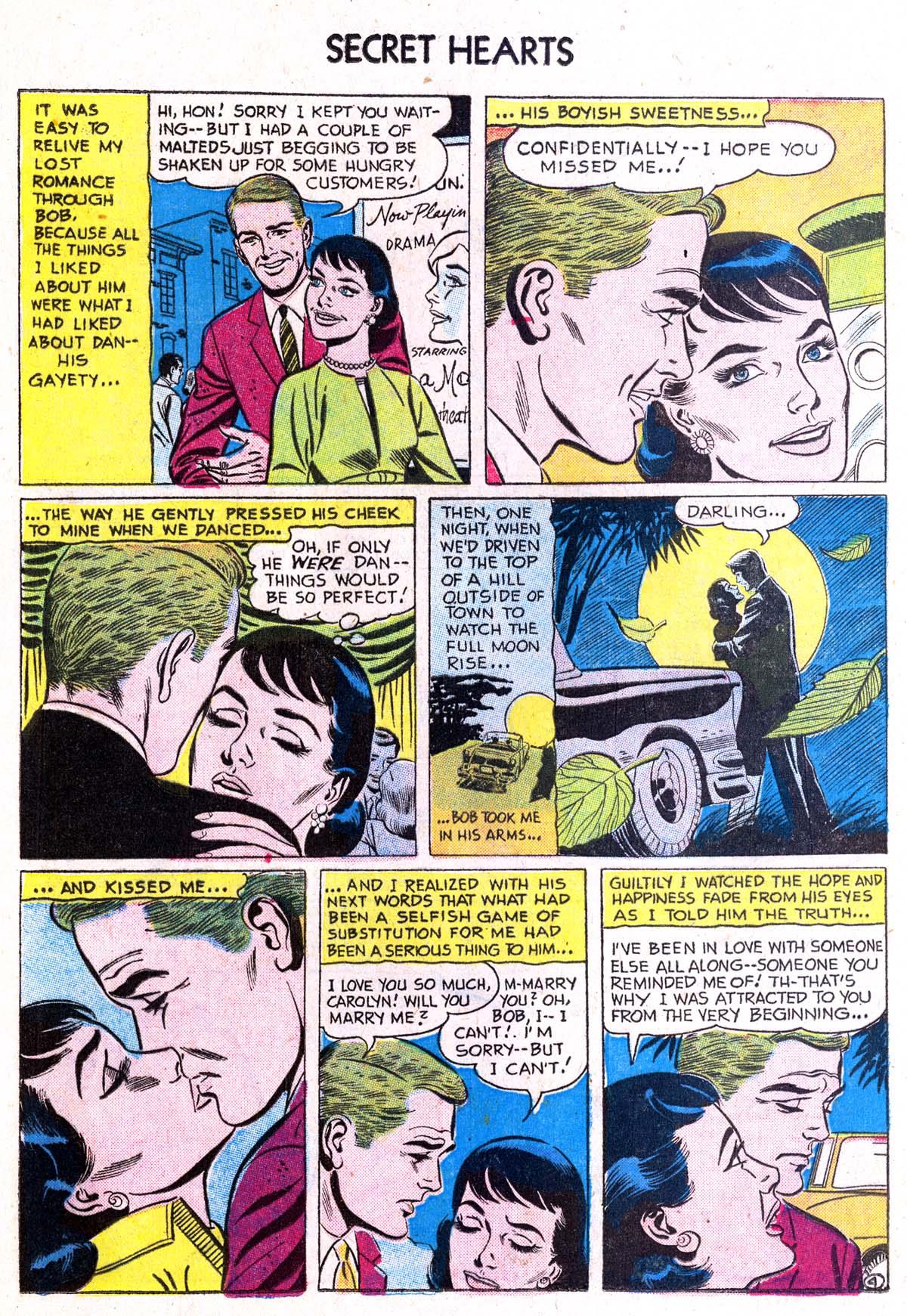 Read online Secret Hearts comic -  Issue #38 - 20