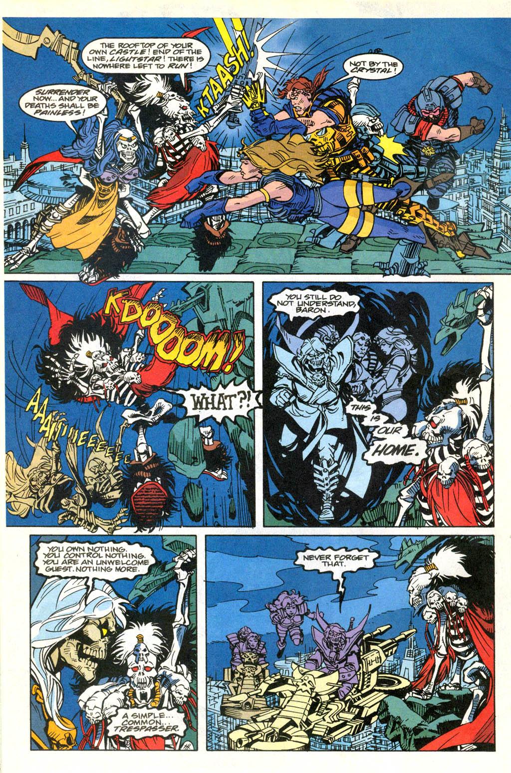 Skeleton Warriors Issue #2 #2 - English 22