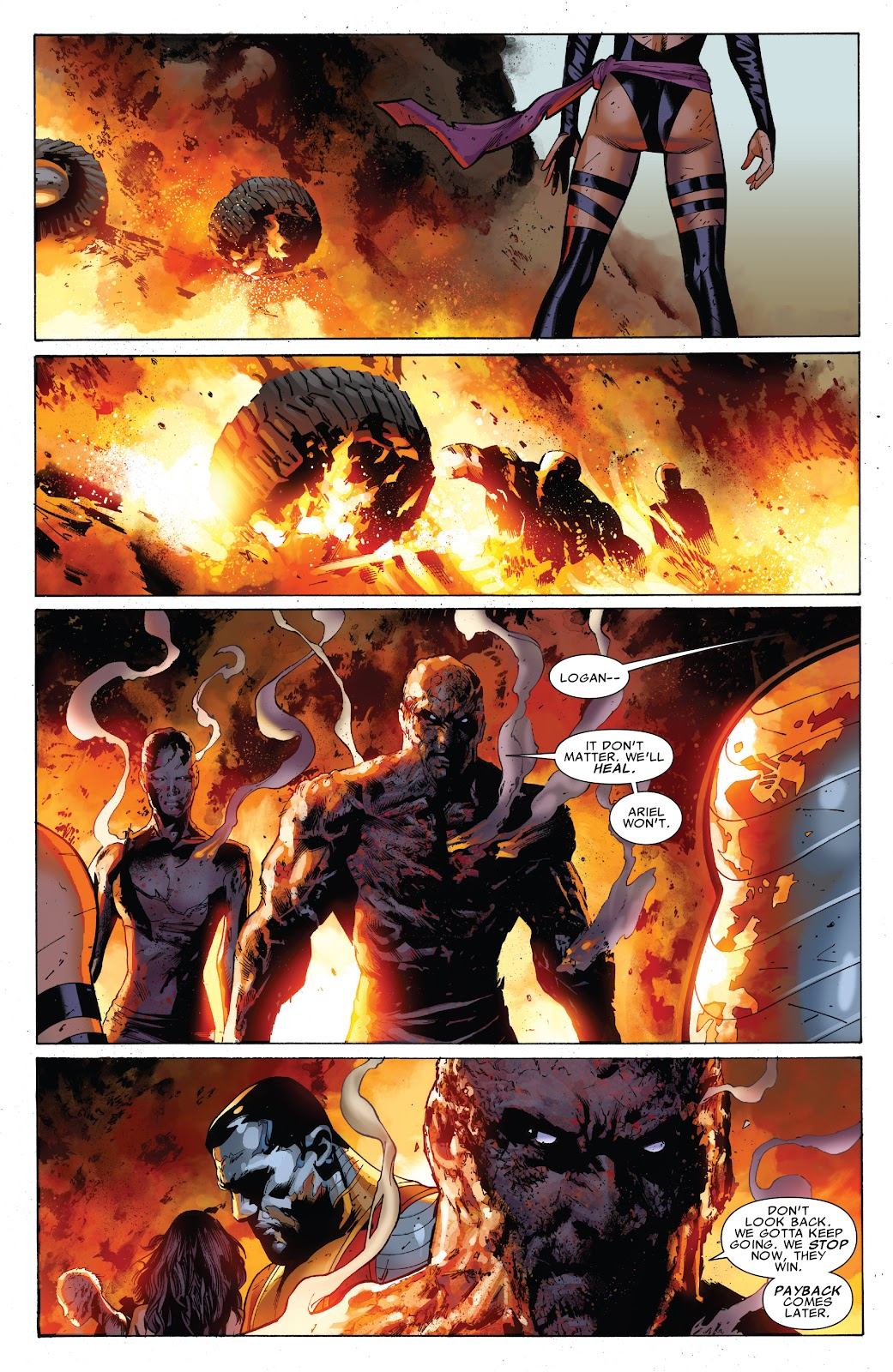 Read online X-Men: Second Coming comic -  Issue # _TPB (Part 2) - 4
