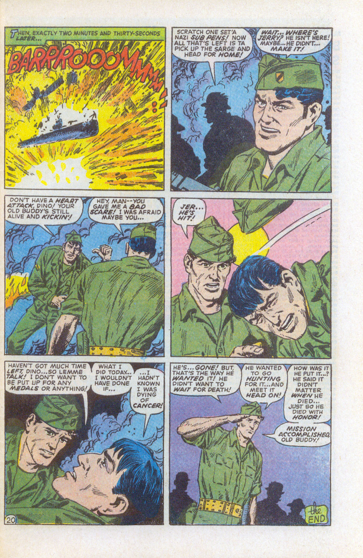 Read online Sgt. Fury comic -  Issue #63 - 29