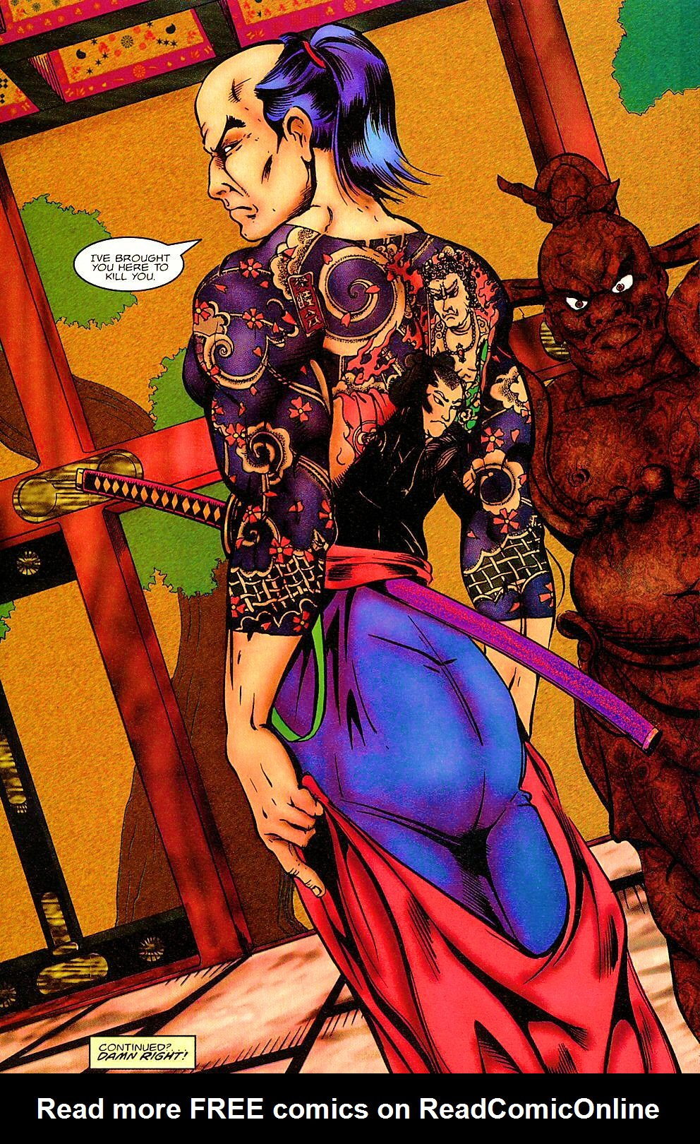 Read online Shi: The Way of the Warrior comic -  Issue #3 - 28
