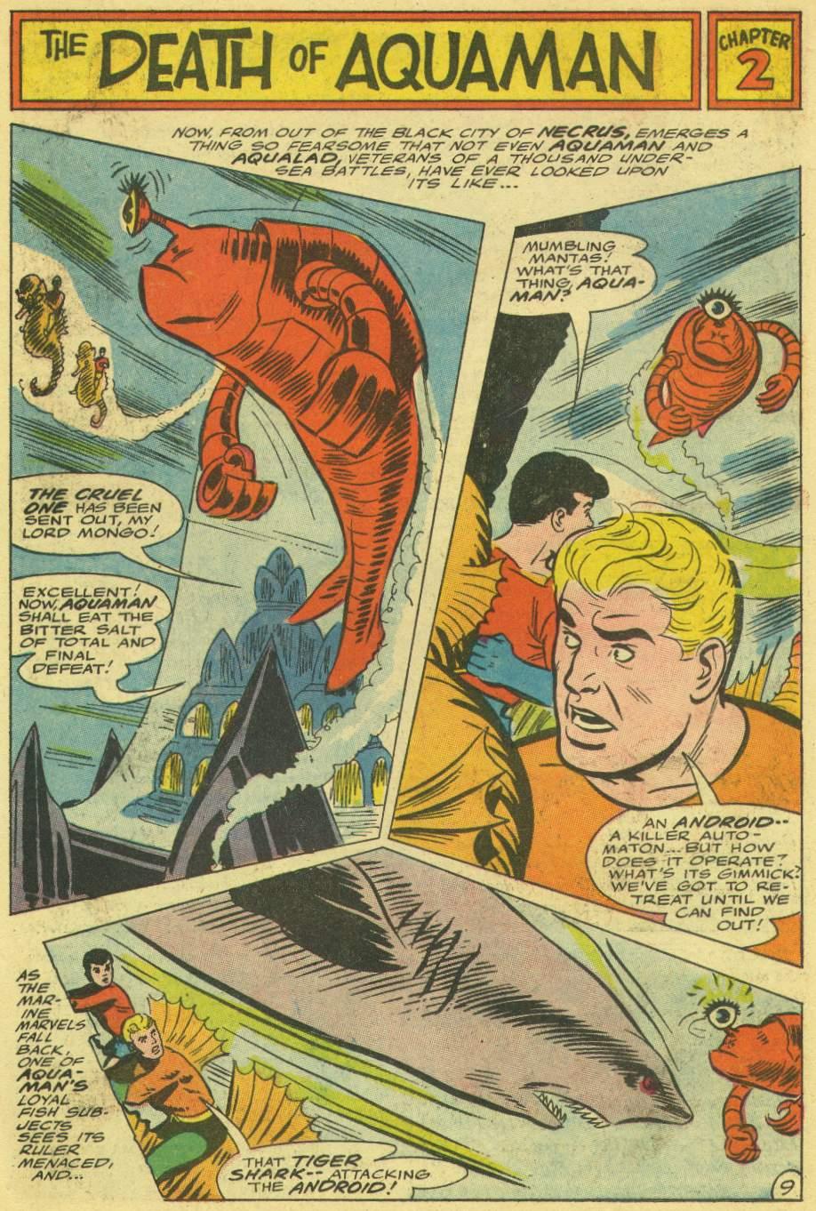 Read online Aquaman (1962) comic -  Issue #30 - 14