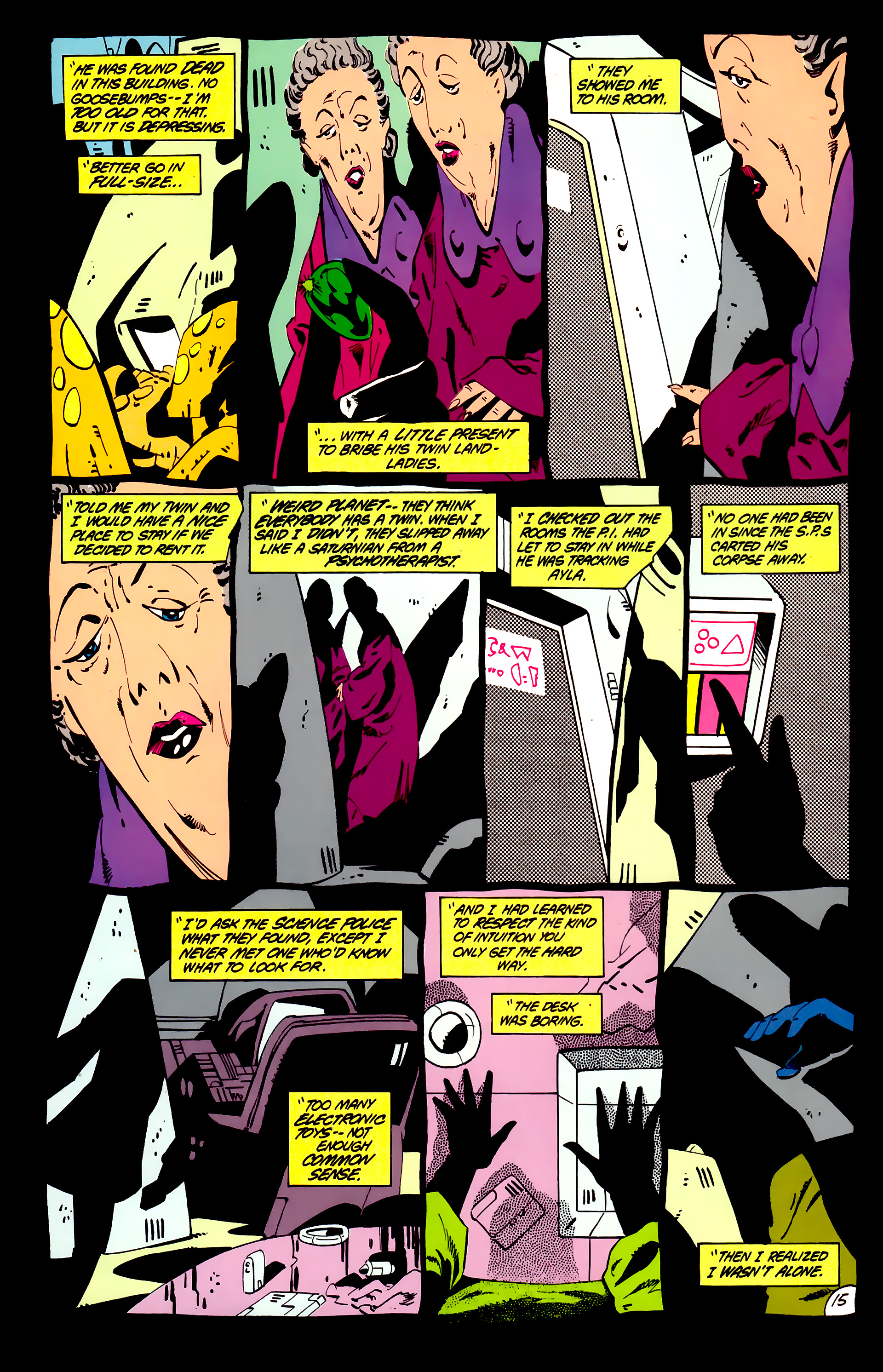 Legion of Super-Heroes (1984) _Annual_1 Page 16