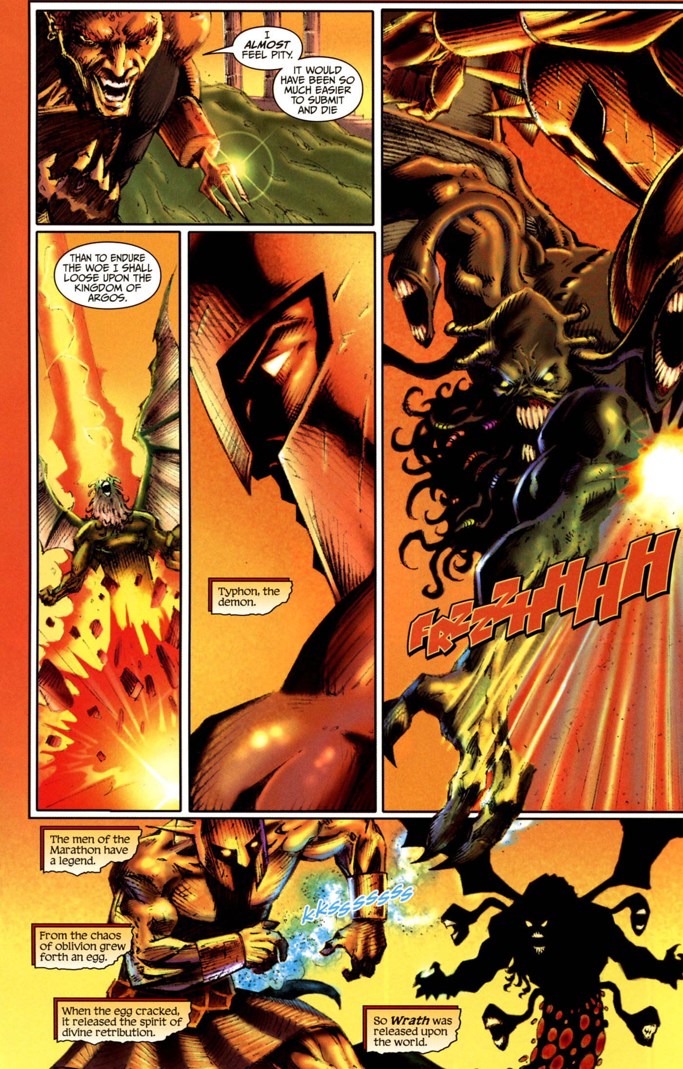Read online Wrath of the Titans comic -  Issue #4 - 19