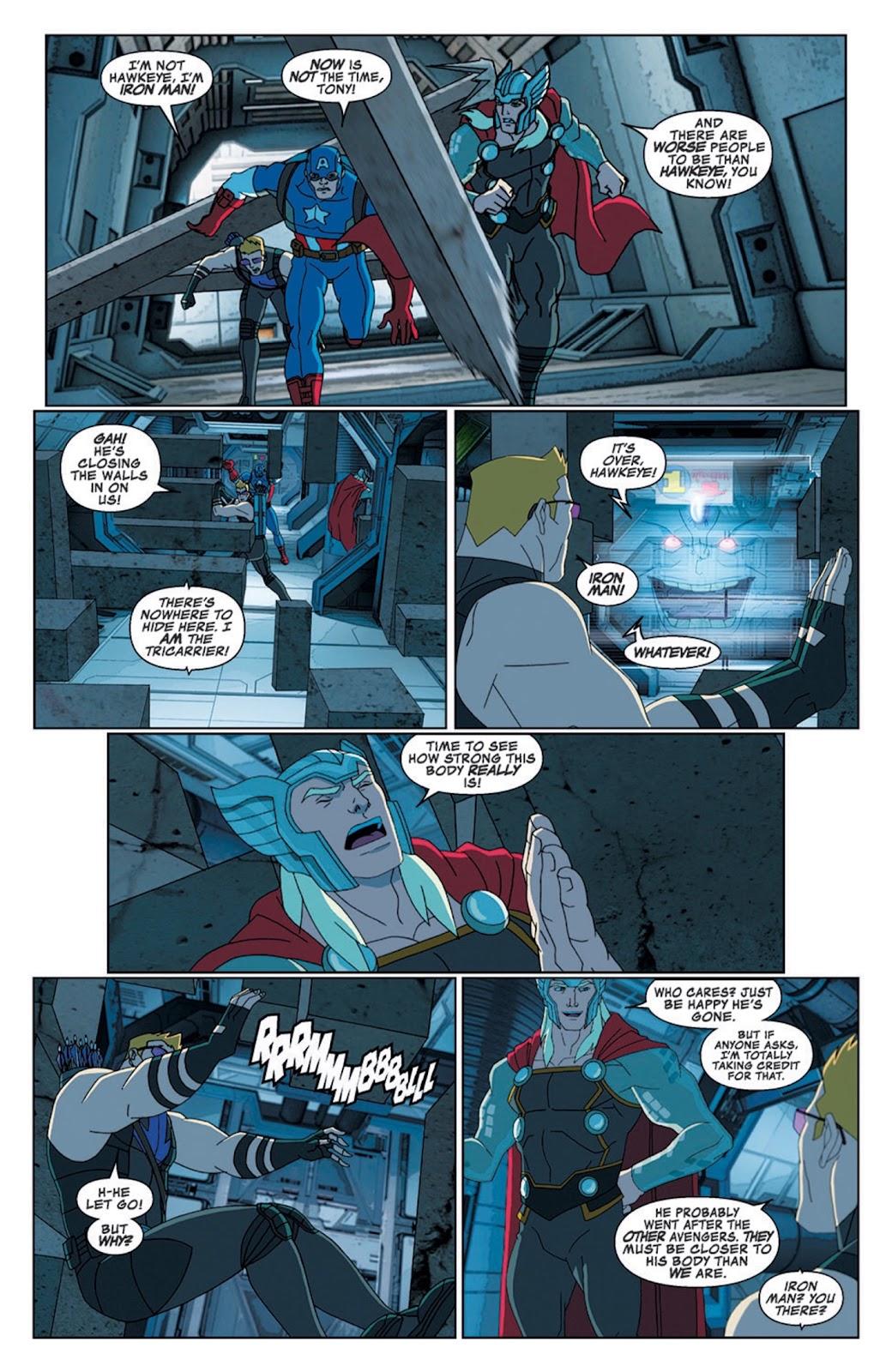 Read online Marvel Universe Avengers Assemble Season 2 comic -  Issue #8 - 22