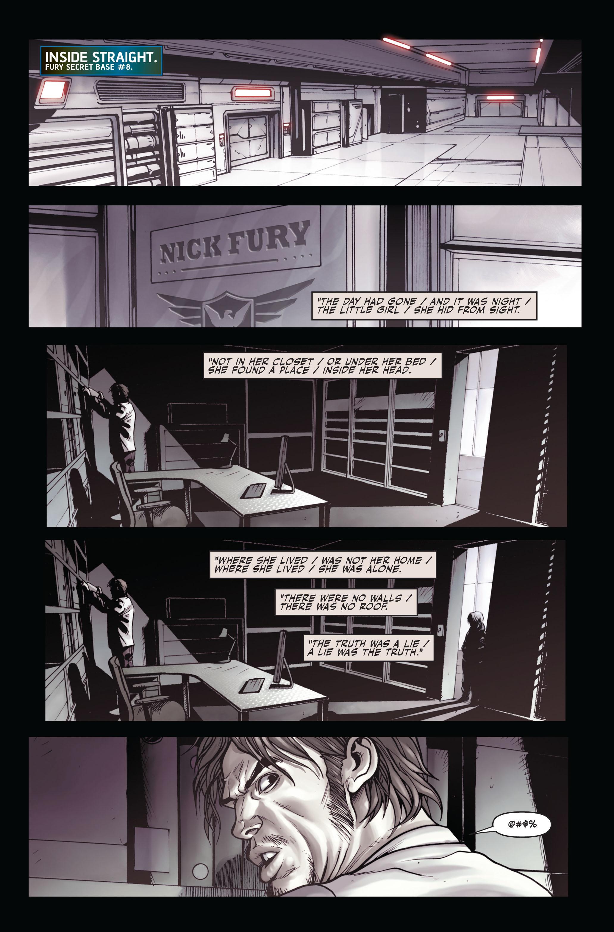 Read online Secret Warriors comic -  Issue #4 - 9