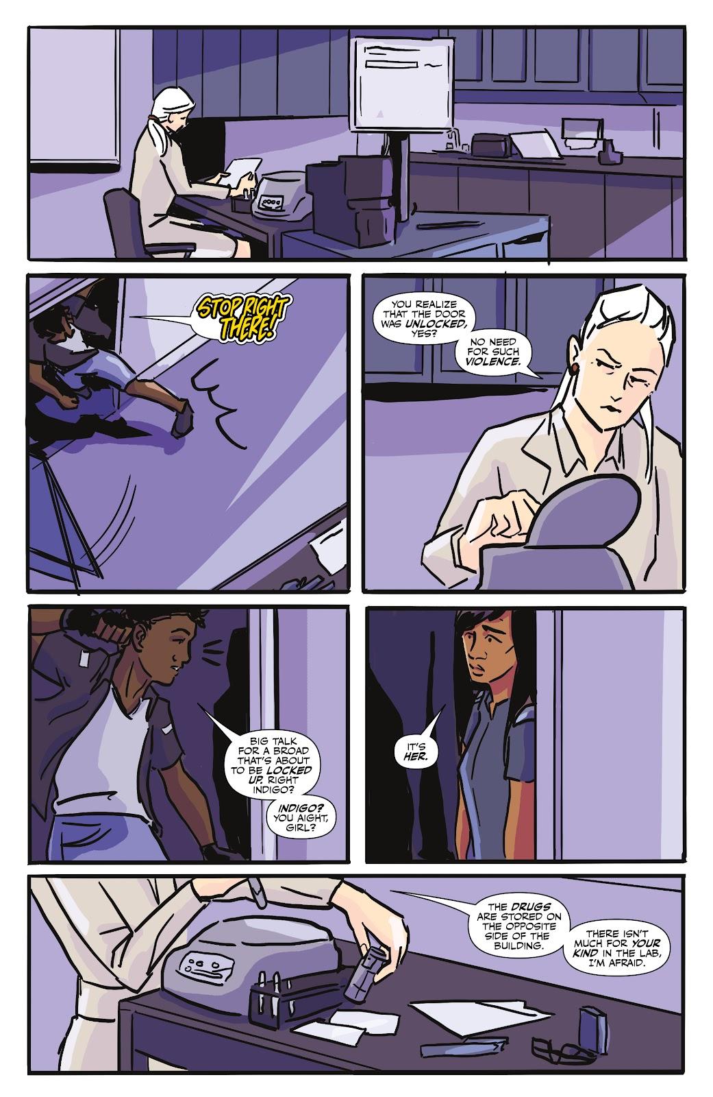 Read online Black (AF): Devil's Dye comic -  Issue #3 - 23
