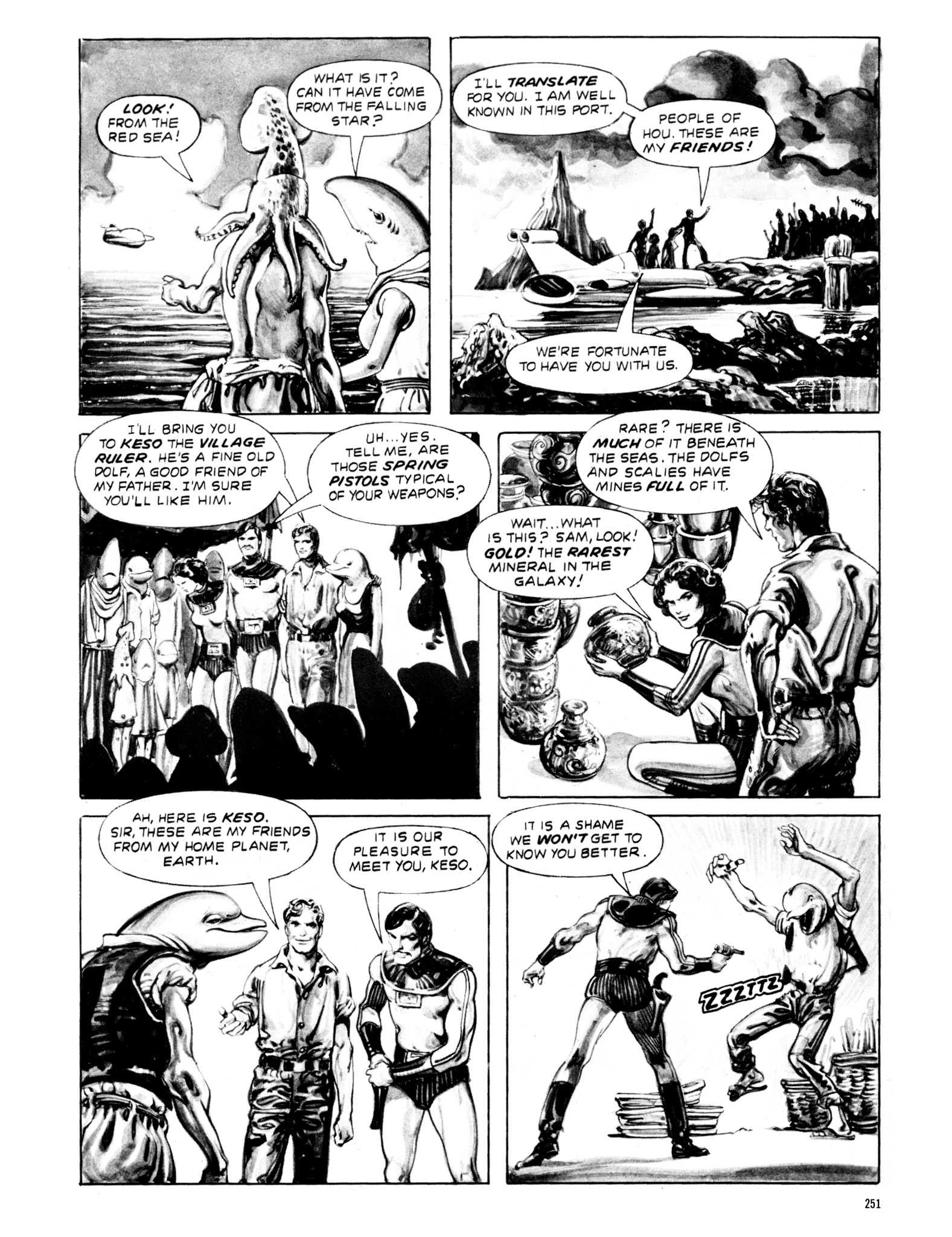 Read online Eerie Archives comic -  Issue # TPB 20 - 251