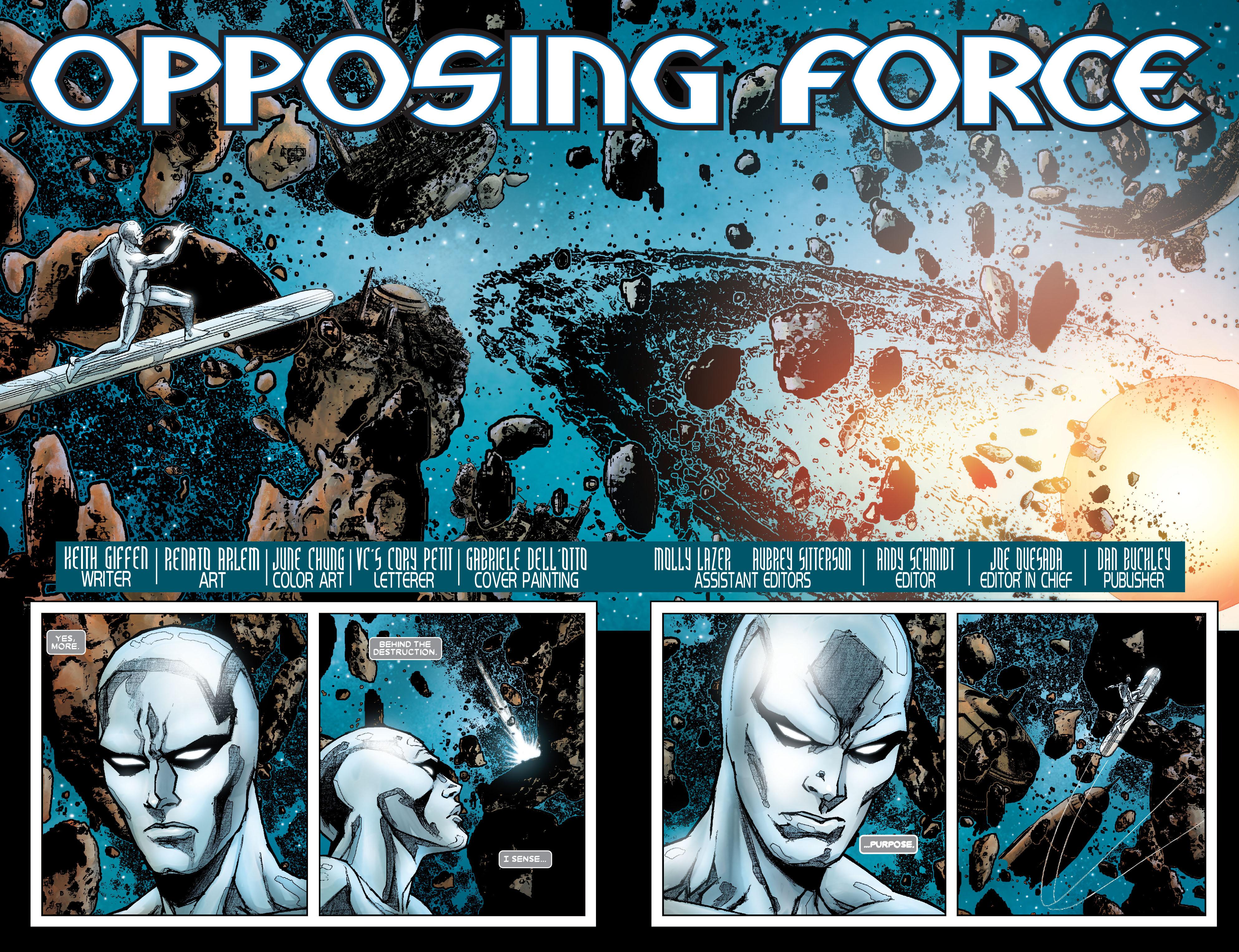 Read online Annihilation: Silver Surfer comic -  Issue #1 - 3