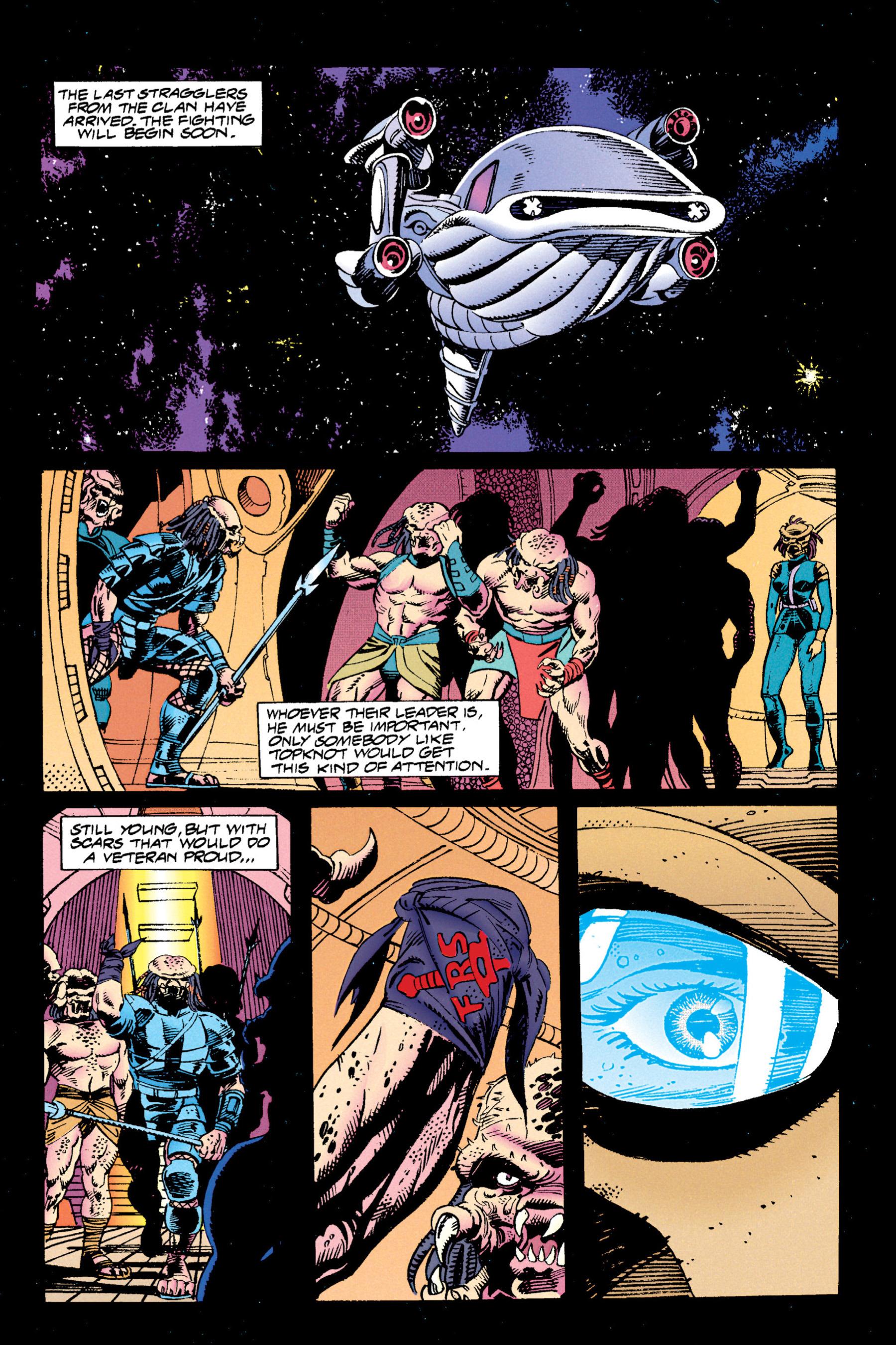 Read online Aliens vs. Predator Omnibus comic -  Issue # _TPB 1 Part 3 - 52
